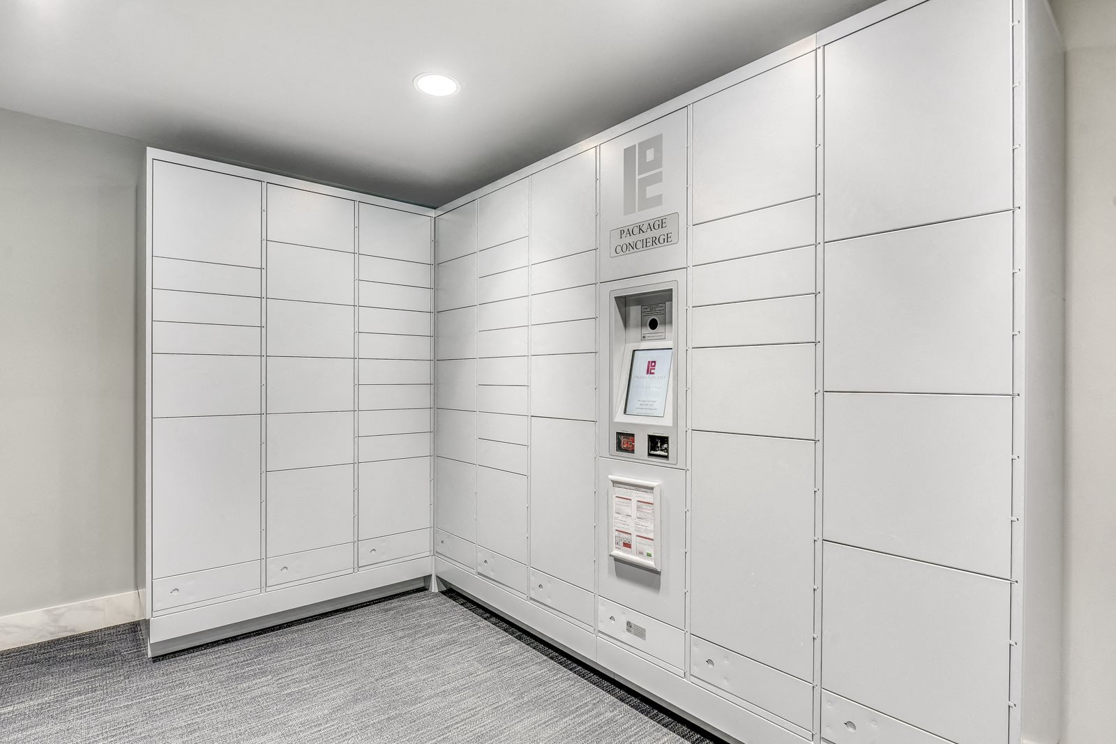 24-Hour Package Lockers and Concierge at The Martin, 98121, WA