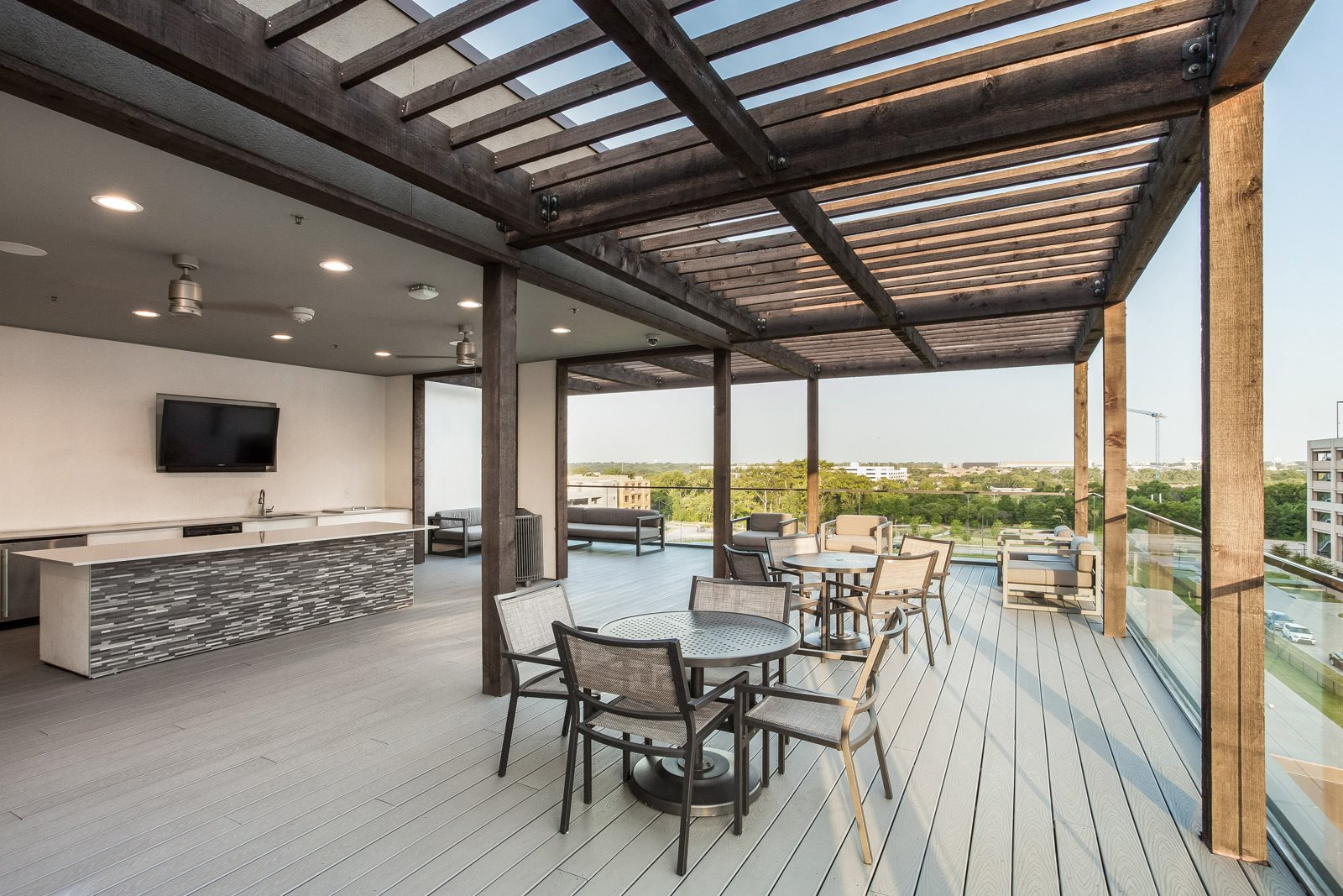 Relaxing Outdoor Lounge at Windsor CityLine, 1250 Hunt Street, TX