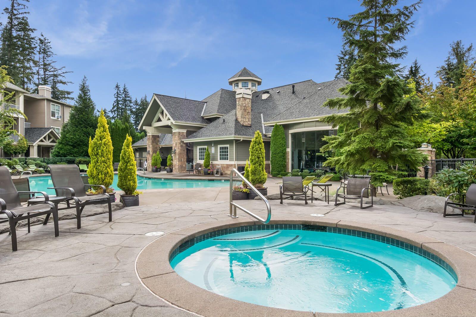 Spa/Hot Tub at The Estates at Cougar Mountain, Issaquah, 98027