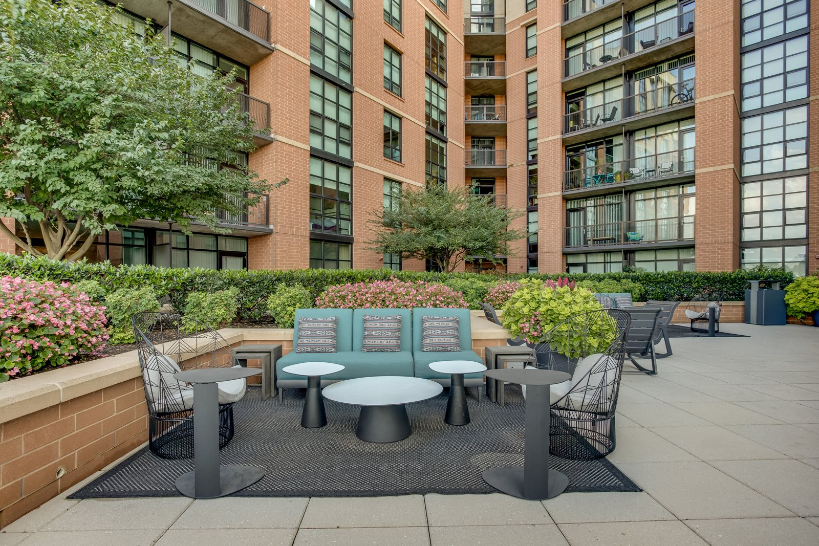 Outdoor Entertainment Space at IO Piazza by Windsor, Arlington, VA