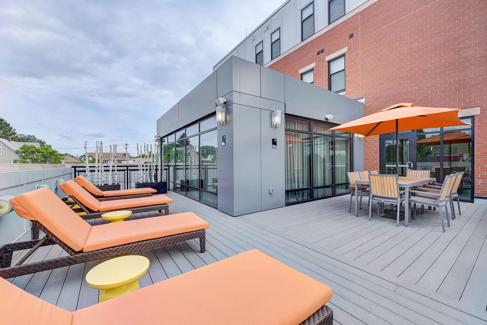 Rooftop Sundeck at Windsor at Maxwells Green, Massachusetts, 02144