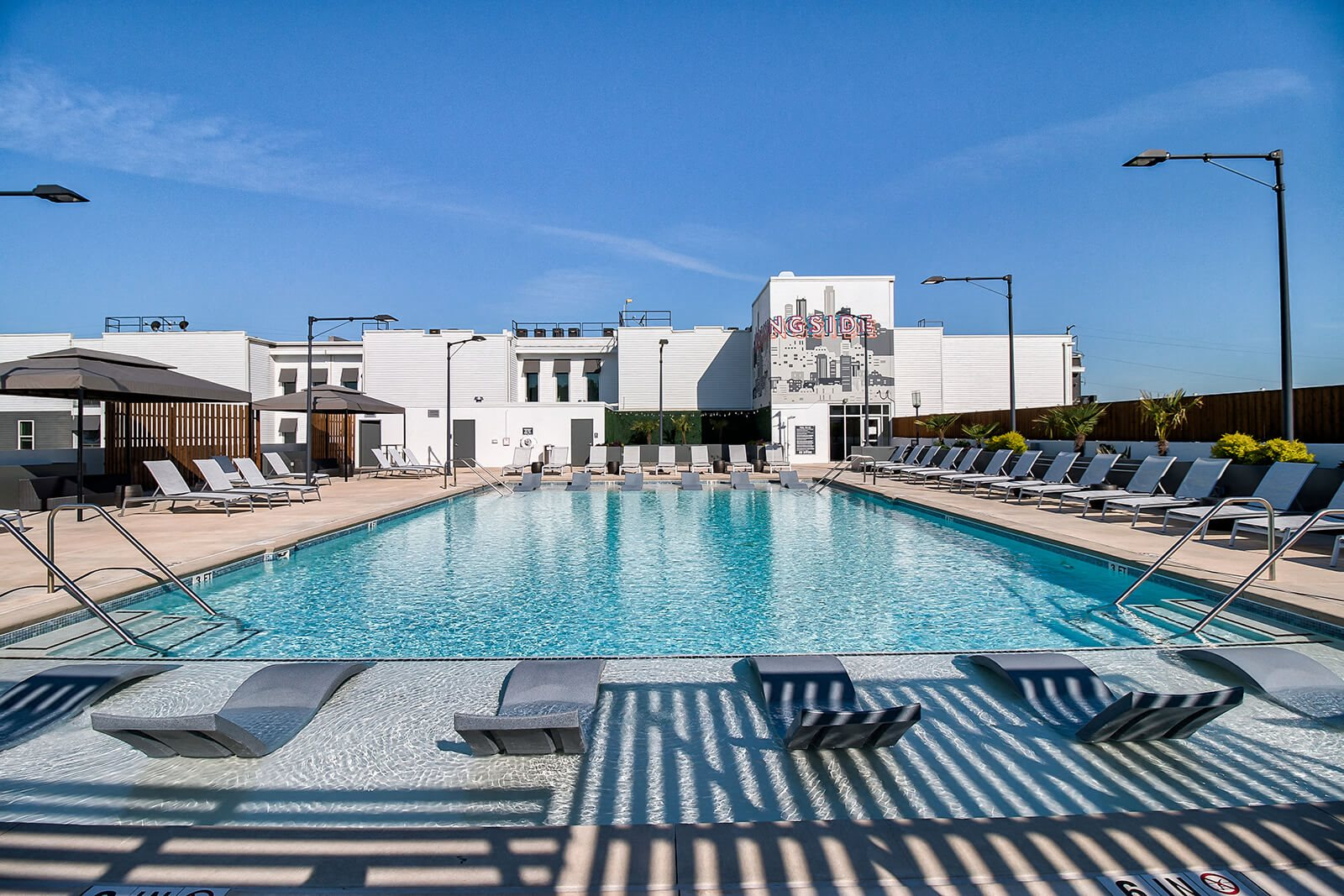 All Season Swimming Pool with Sundeck with Cabana at Morningside Atlanta by Windsor, 1845 Piedmont Ave NE, Atlanta