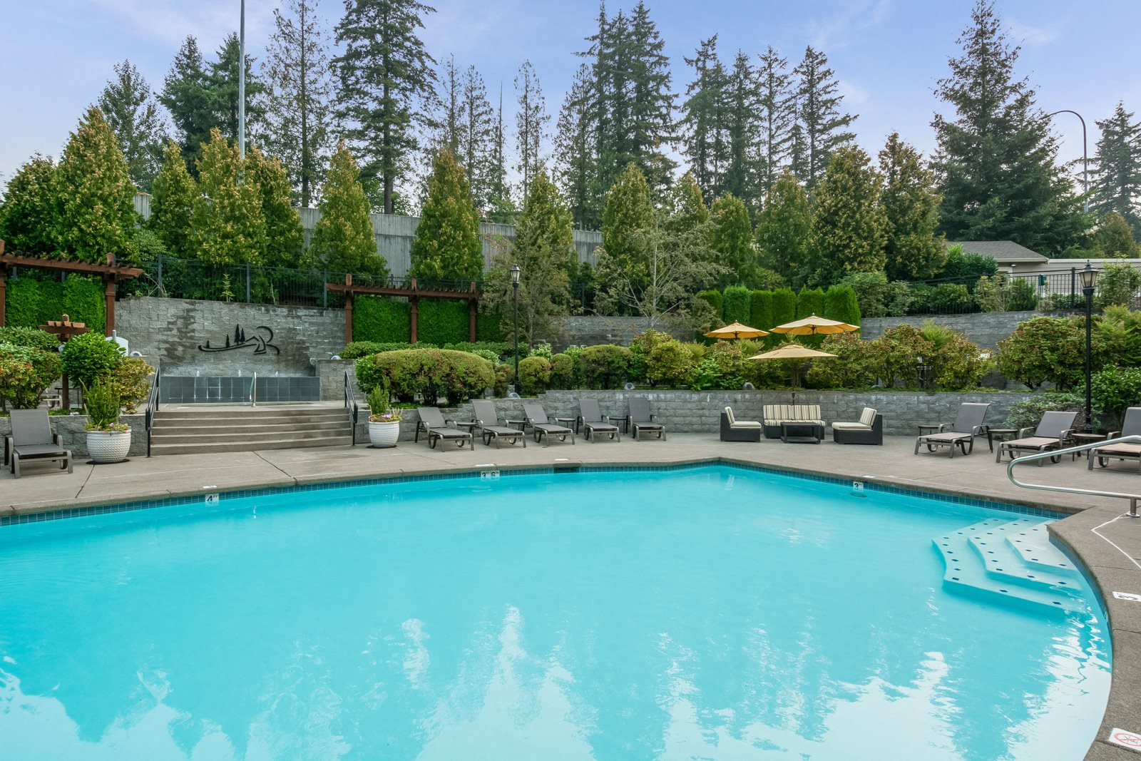 Luxurious Pool with Sundeck at Reflections by Windsor, Redmond, WA, 98052