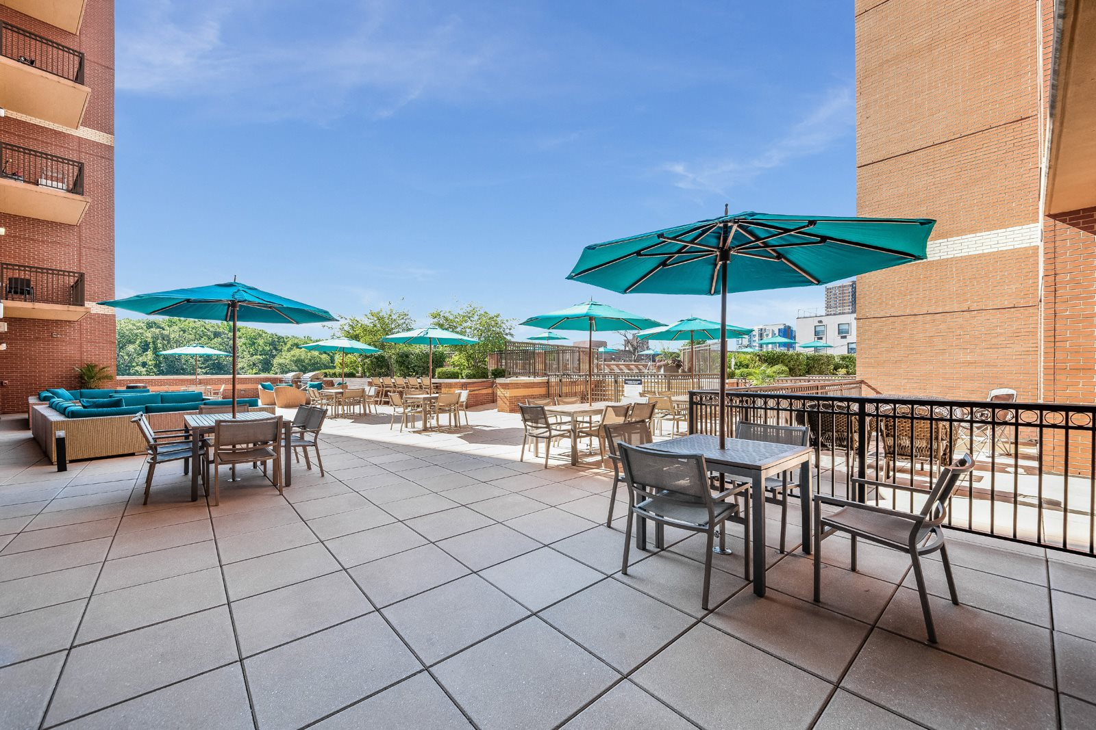 Outdoor Lounge at Twenty50 by Windsor, 2050 Central Road, NJ