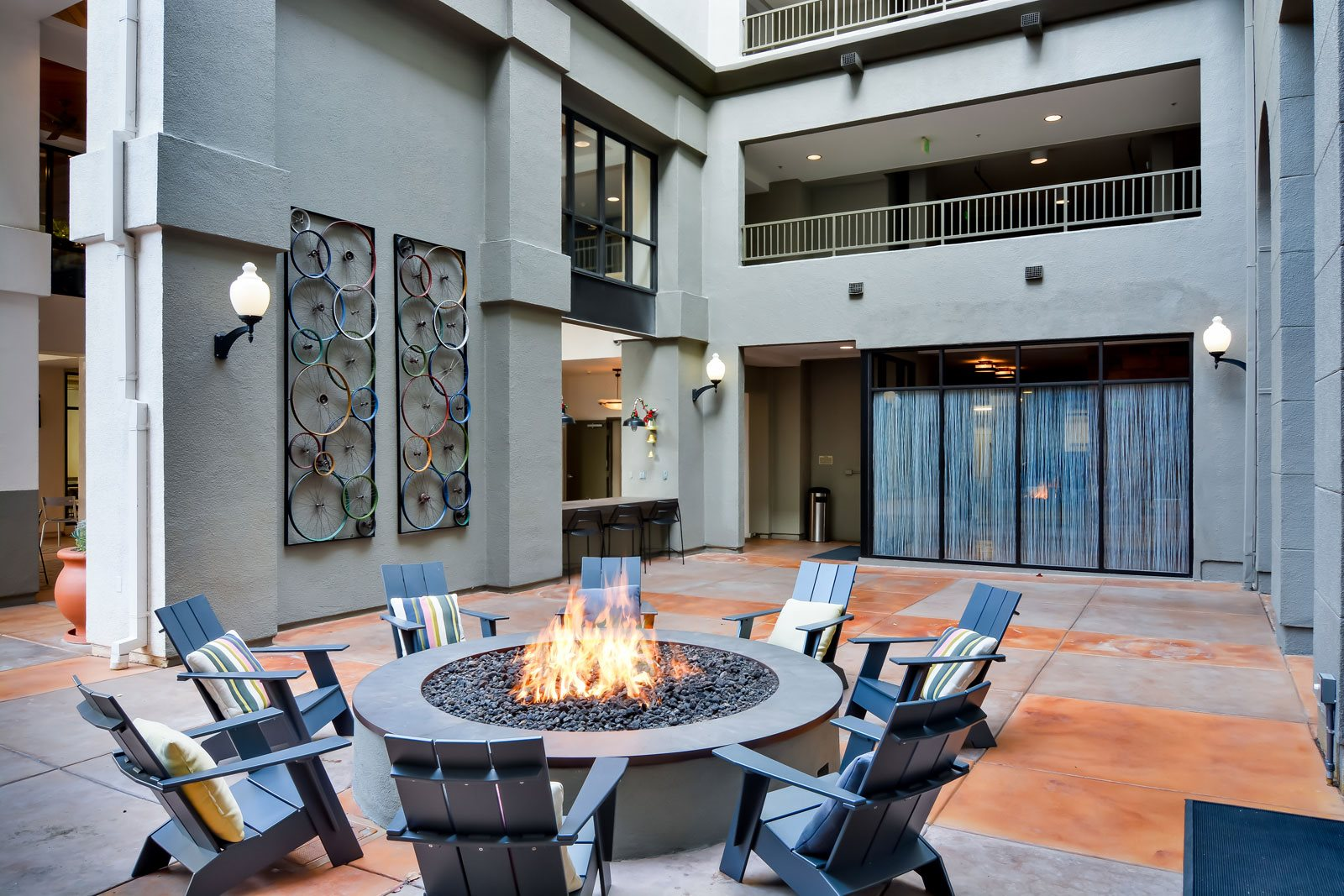 Fire Pit at Dublin Station by Windsor, California, 94568