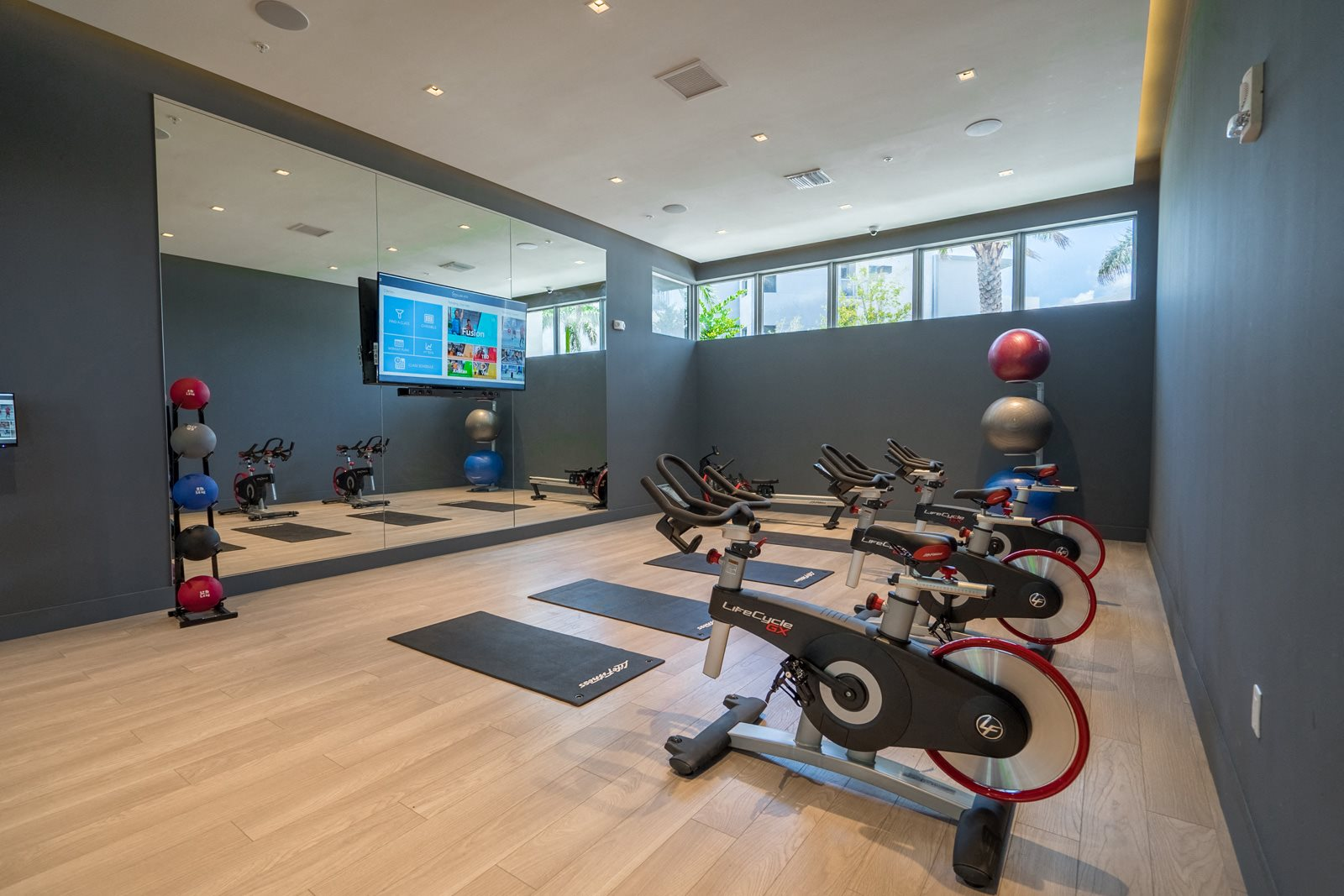 High-Performance Fitness Studio at Allure by Windsor, 6750 Congress Avenue, FL