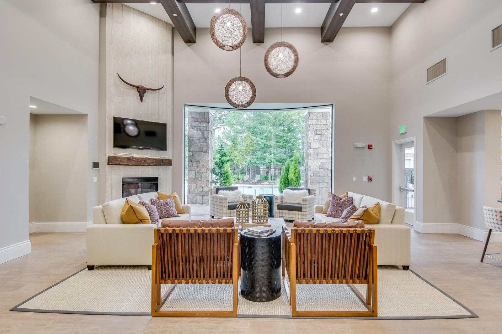 Newly Renovated Clubhouse at The Estates at Cougar Mountain, Washington, 98027
