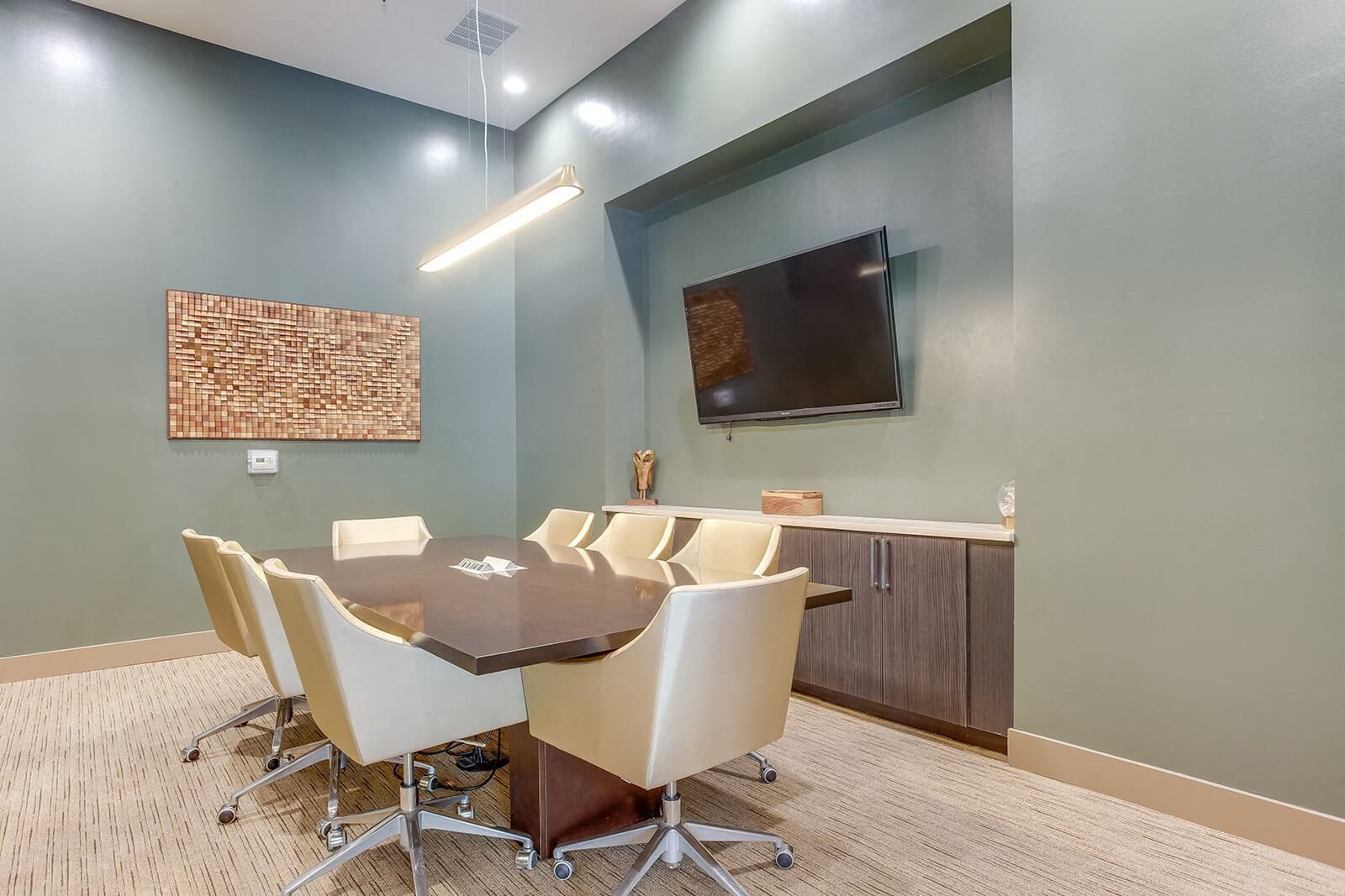 24-Hour Conference Room With Large Screen at Element 47 by Windsor, Denver, Colorado