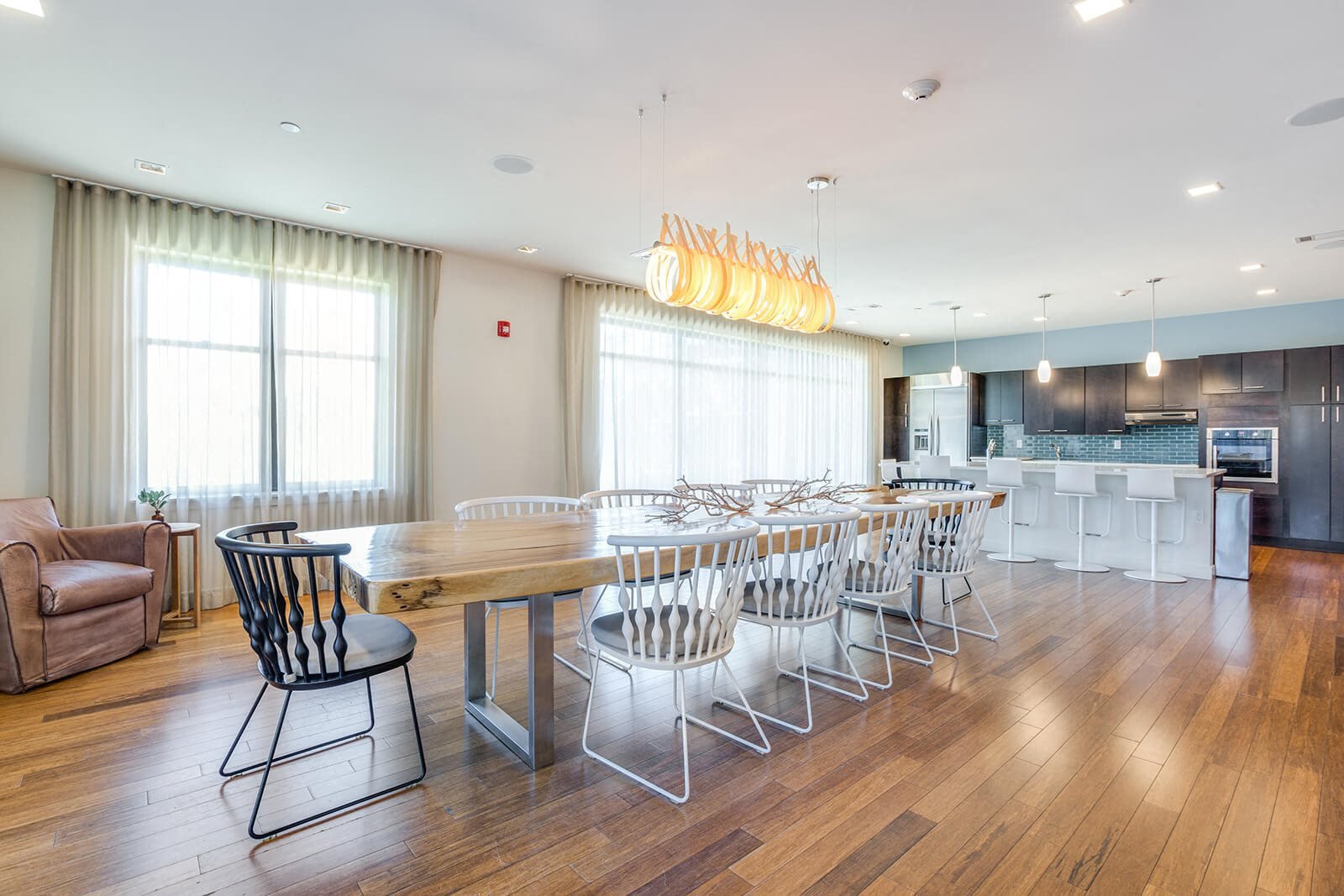 Newly Renovated Resident Lounge at Windsor at Maxwells Green, 02144, MA
