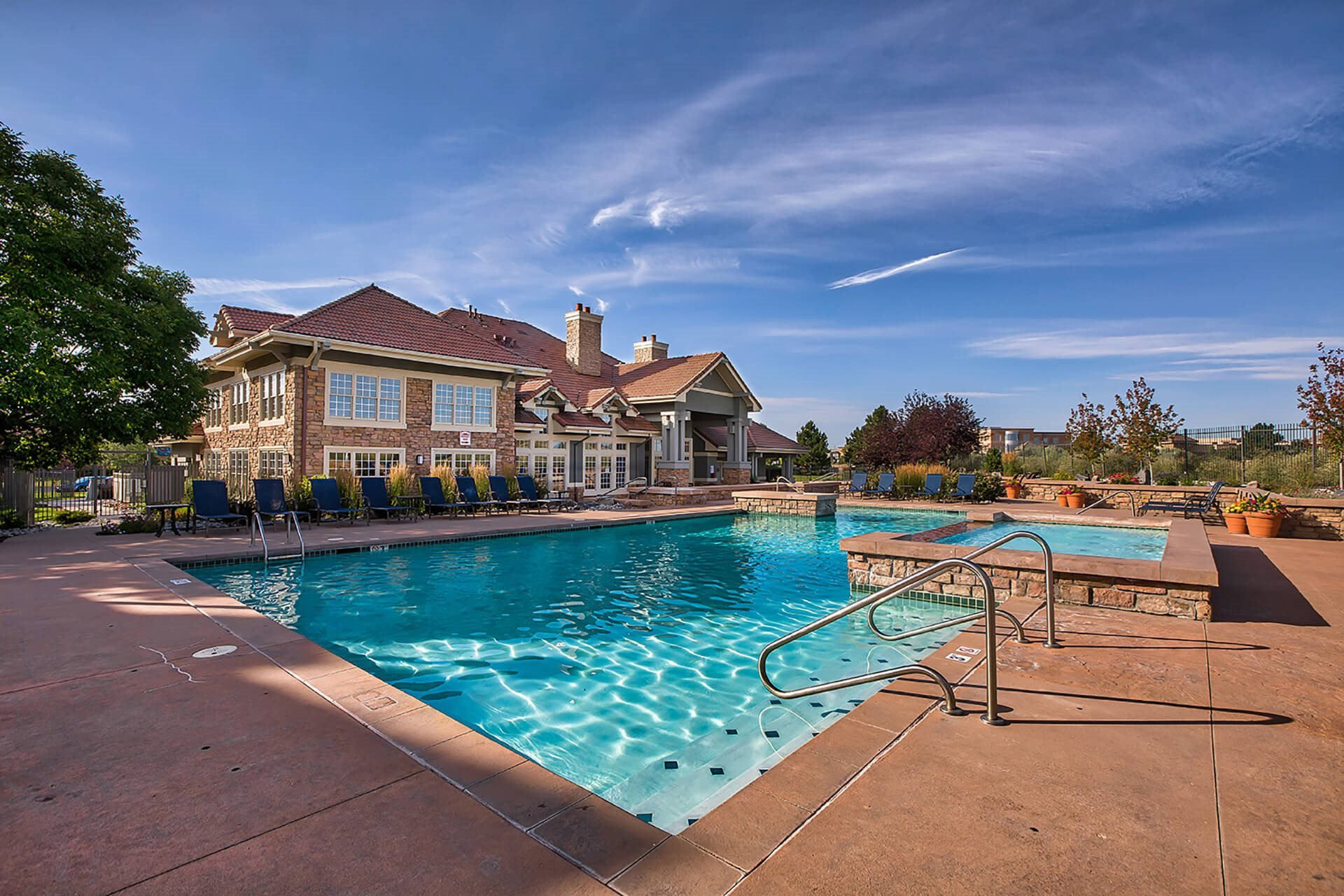 Our Resort-Style Pool at Windsor at Meridian, Englewood, CO