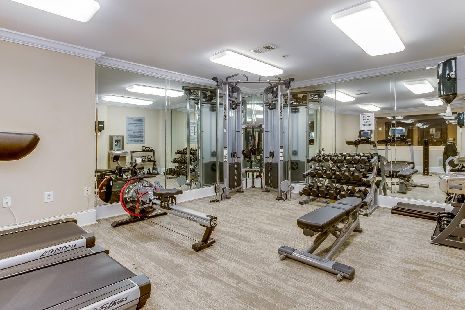 Fully-Equipped Fitness Center at Windsor at Midtown, 222 14th Street NE, GA