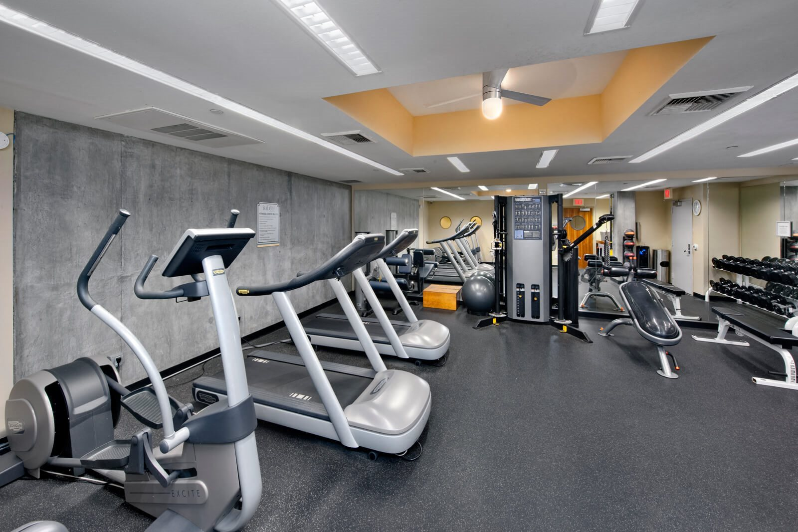 State-of-the-Art Fitness Center at Sea Castle, 1725 Ocean Front Walk, Santa Monica