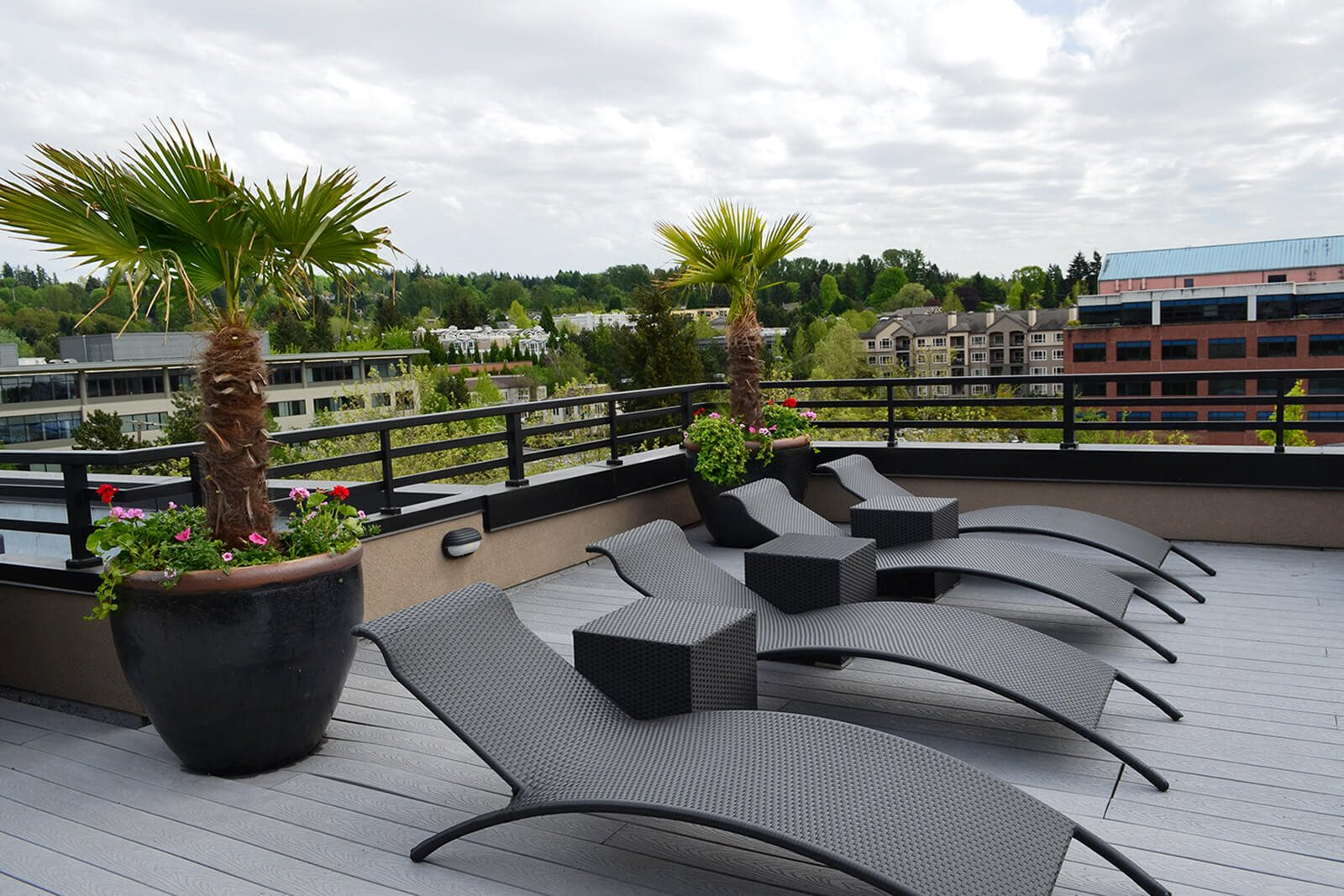 Roof-Top Veranda at Tera Apartments, 528 Central Way, WA