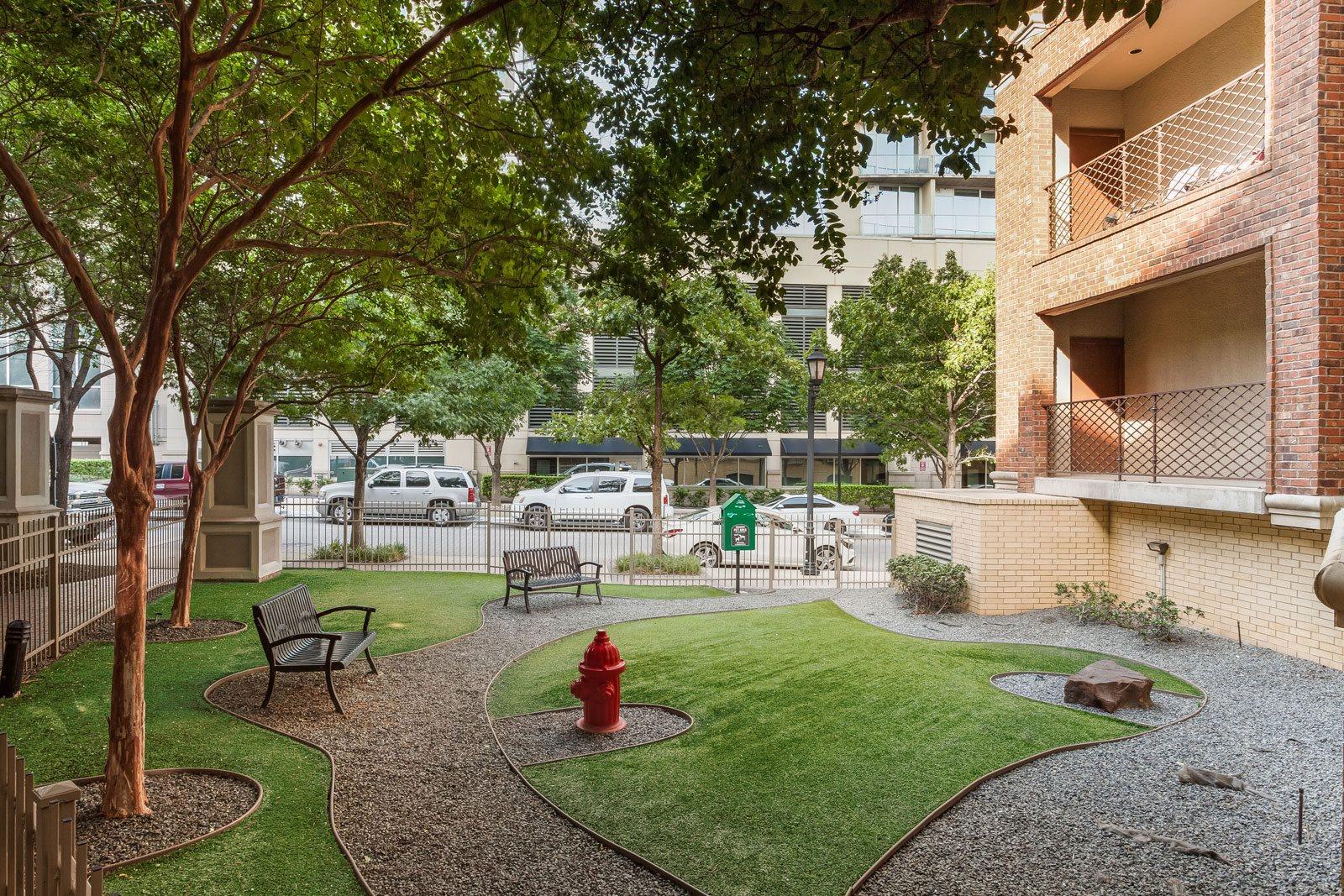 Pet Park at Trianon by Windsor, 2820 McKinnon Street, Dallas