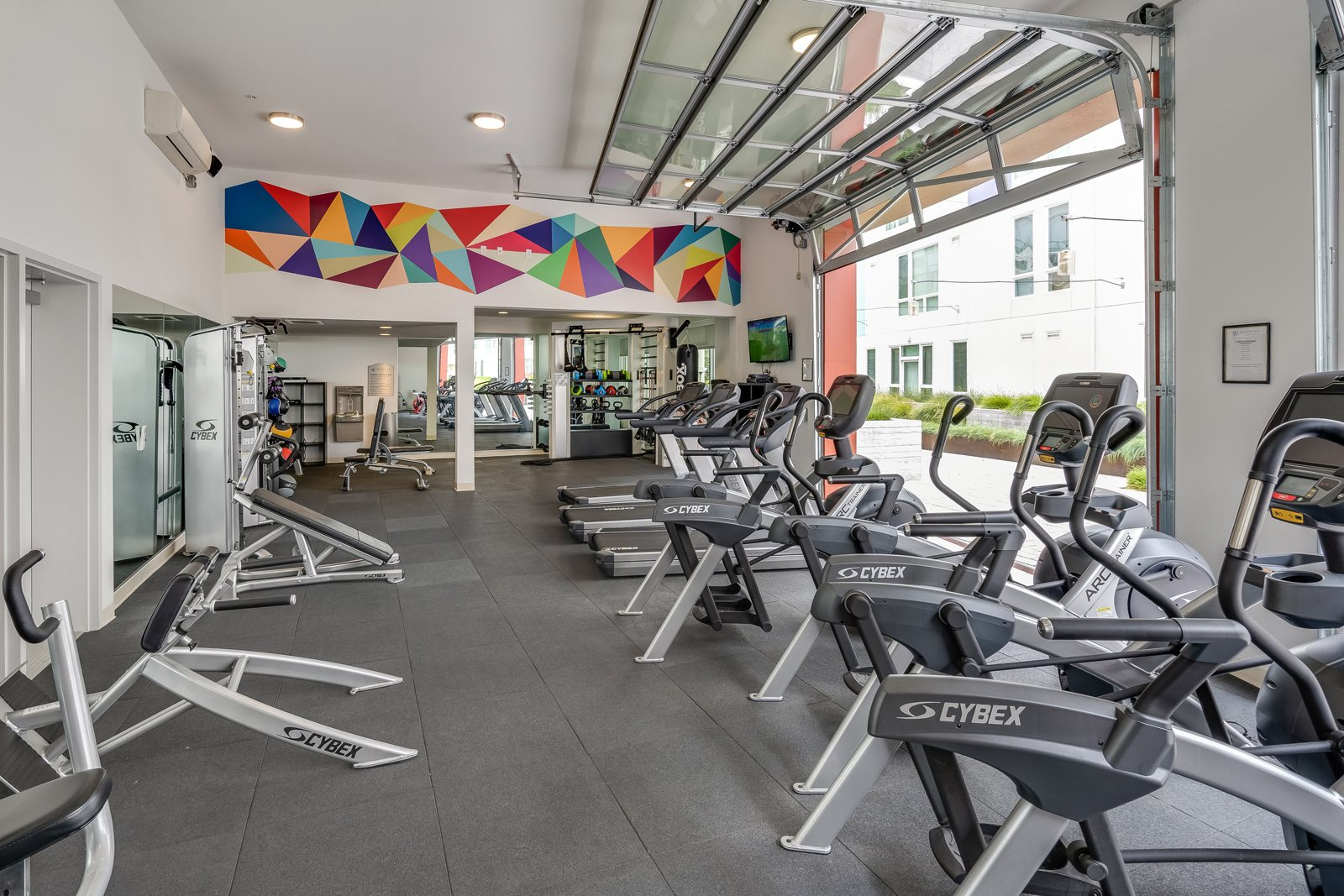 Fully-Equipped Fitness Center at Mission Bay by Windsor, 360 Berry Street, CA