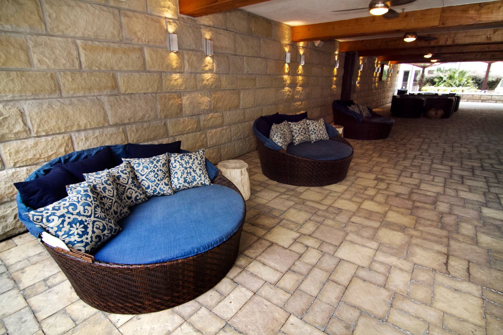 Relaxing Outdoor Space called The Cave at The Monterey by Windsor, Dallas, 75204