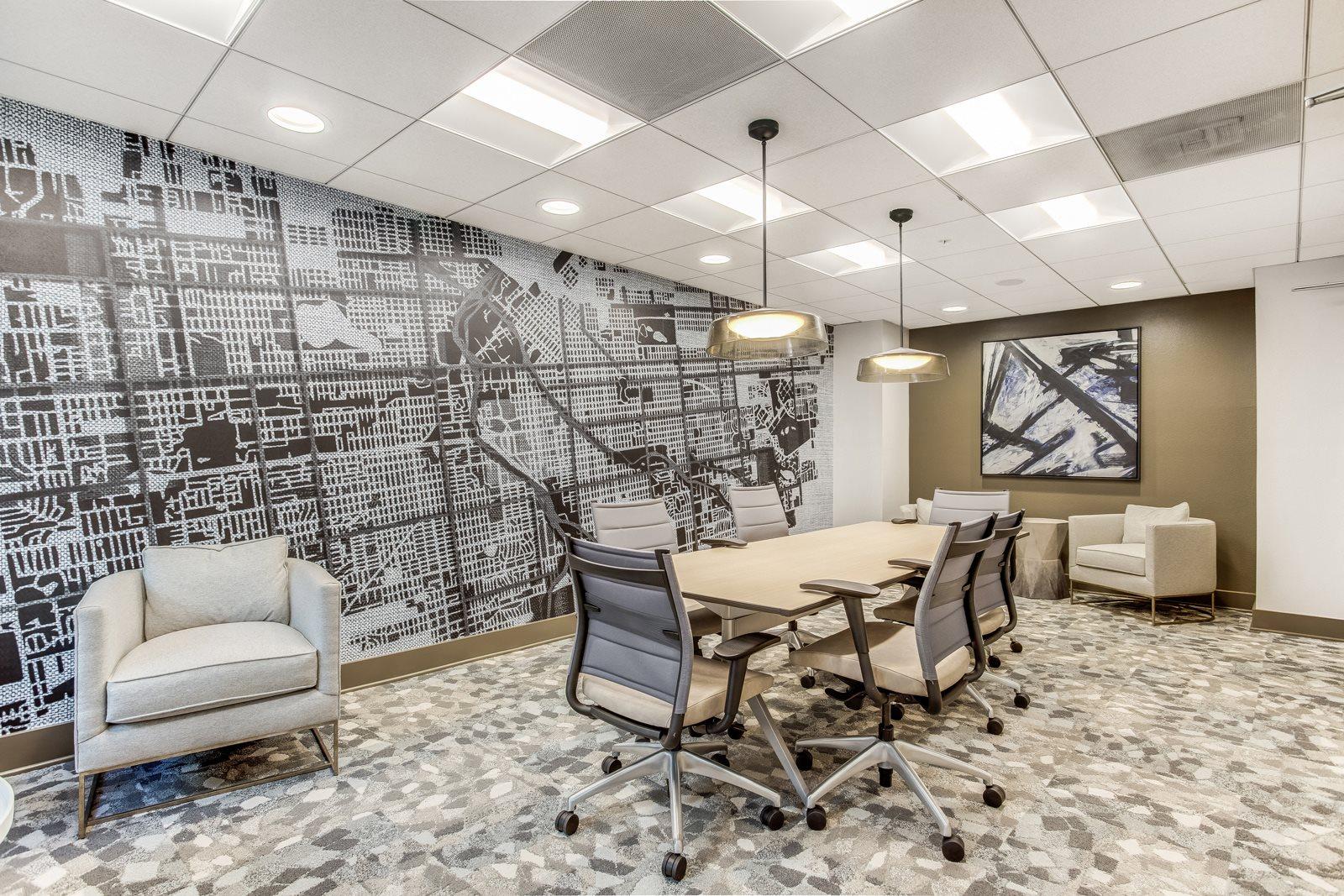 Conference Room at The District, Denver