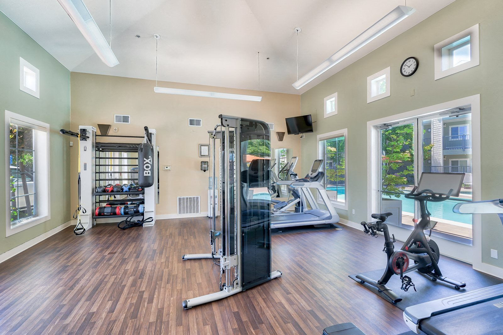 Fully-Equipped Fitness Center at The Kensington, 1552 East Gate Way, #126, Pleasanton