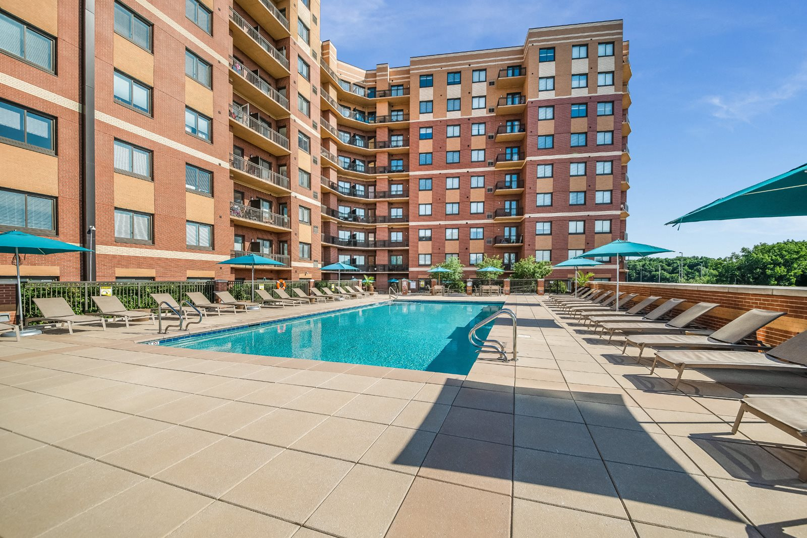 Heated Pool at Twenty50 by Windsor, Fort Lee, NJ