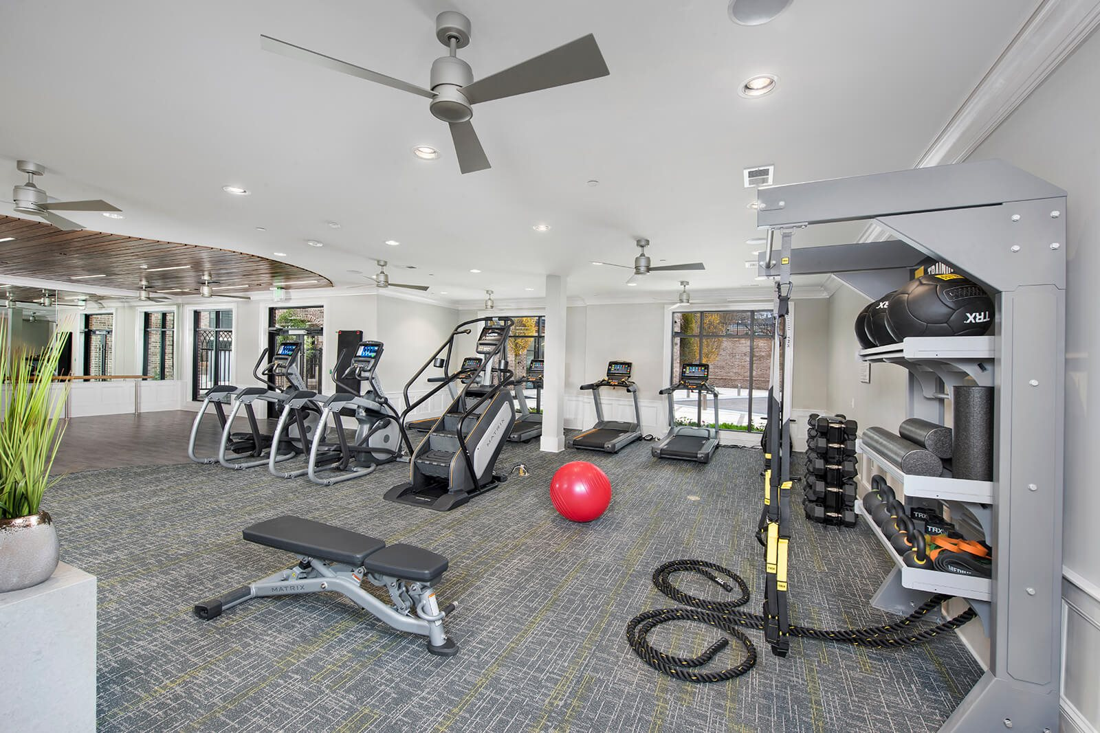 Fully-Equipped Fitness Center at Windsor Chastain, Atlanta, Georgia
