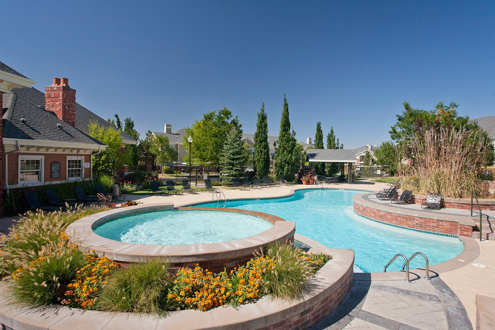 Resort-Style Pool at Windsor at Meadow Hills, 4260 South Cimarron Way, Aurora