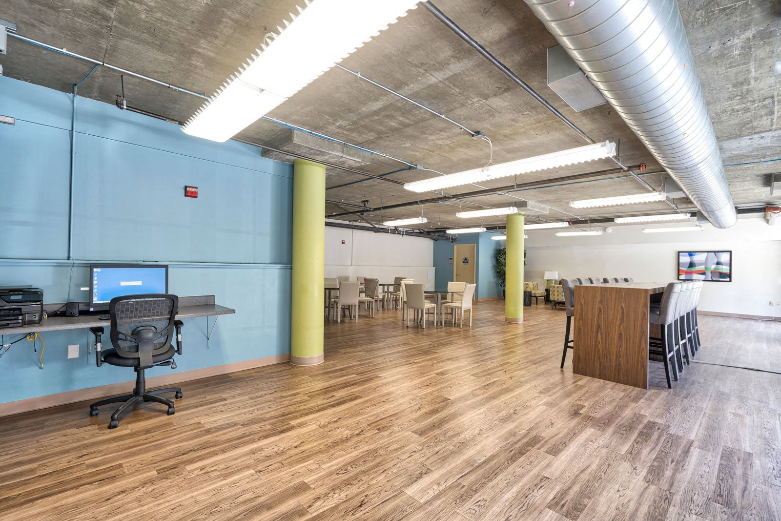 Business Center with WiFi at Allegro at Jack London Square, California, 94607