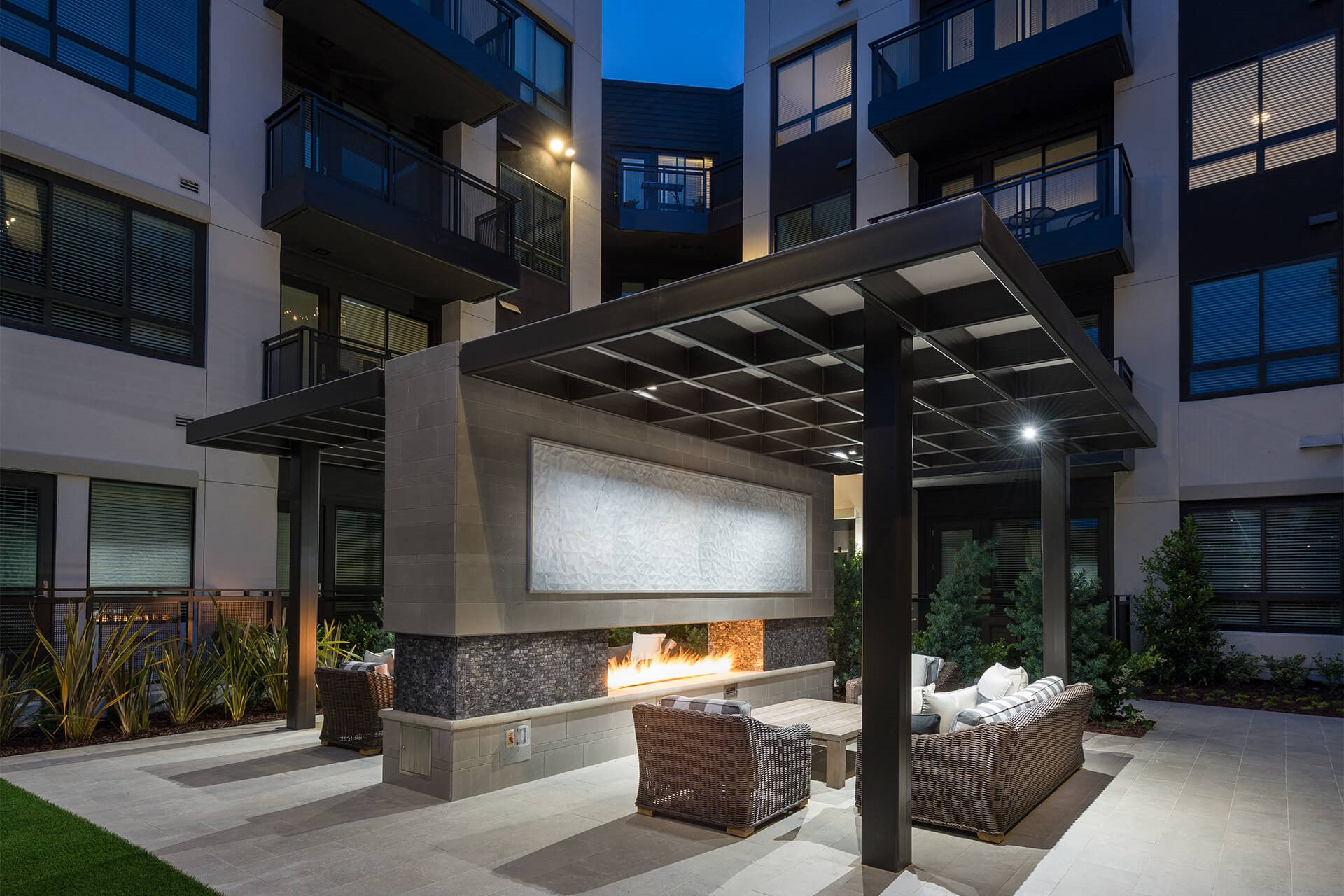 Double-Sided Fireplace at Cannery Park by Windsor, San Jose, 95112