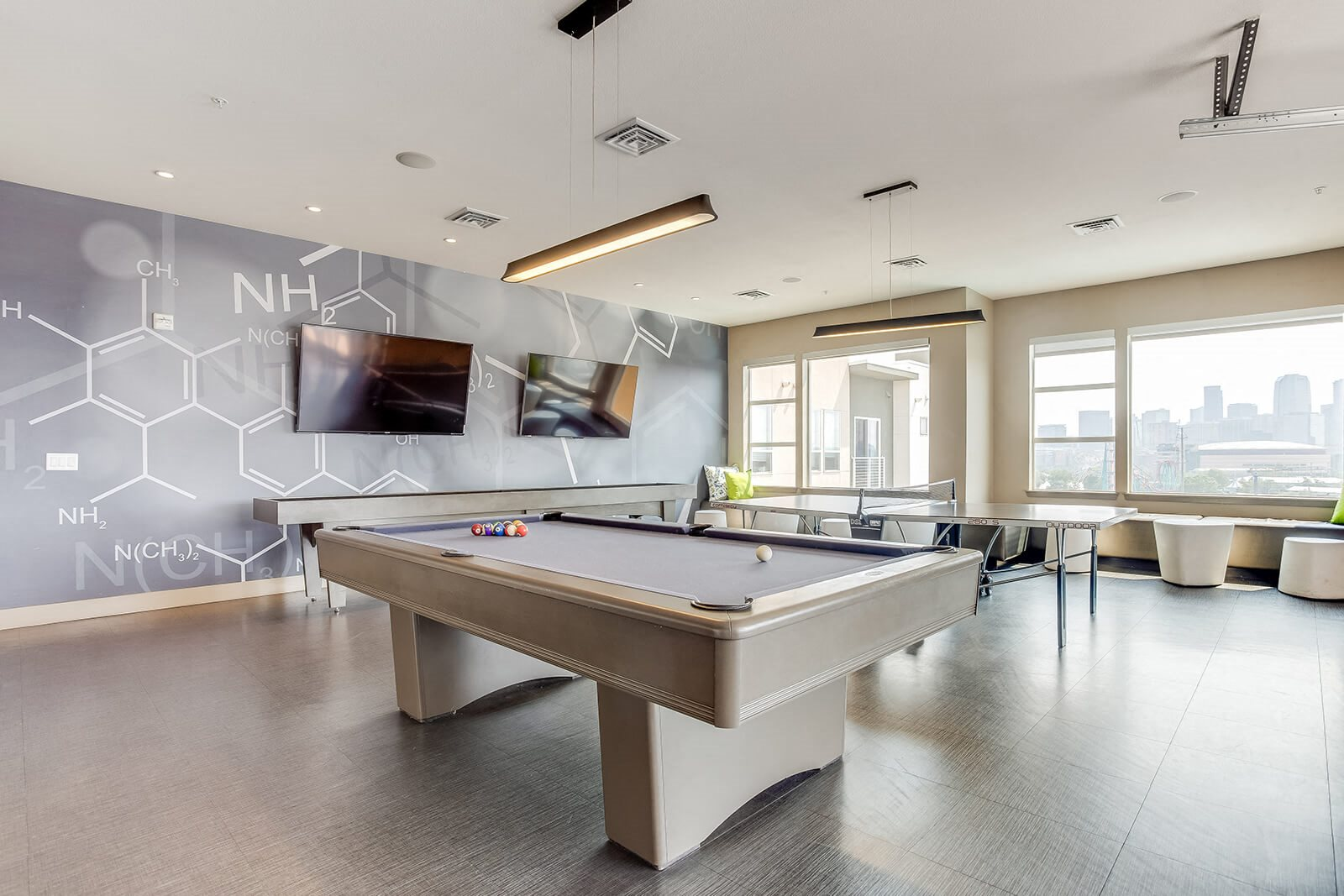 Billiards Table In Great Room at Element 47 by Windsor, Colorado, 80211