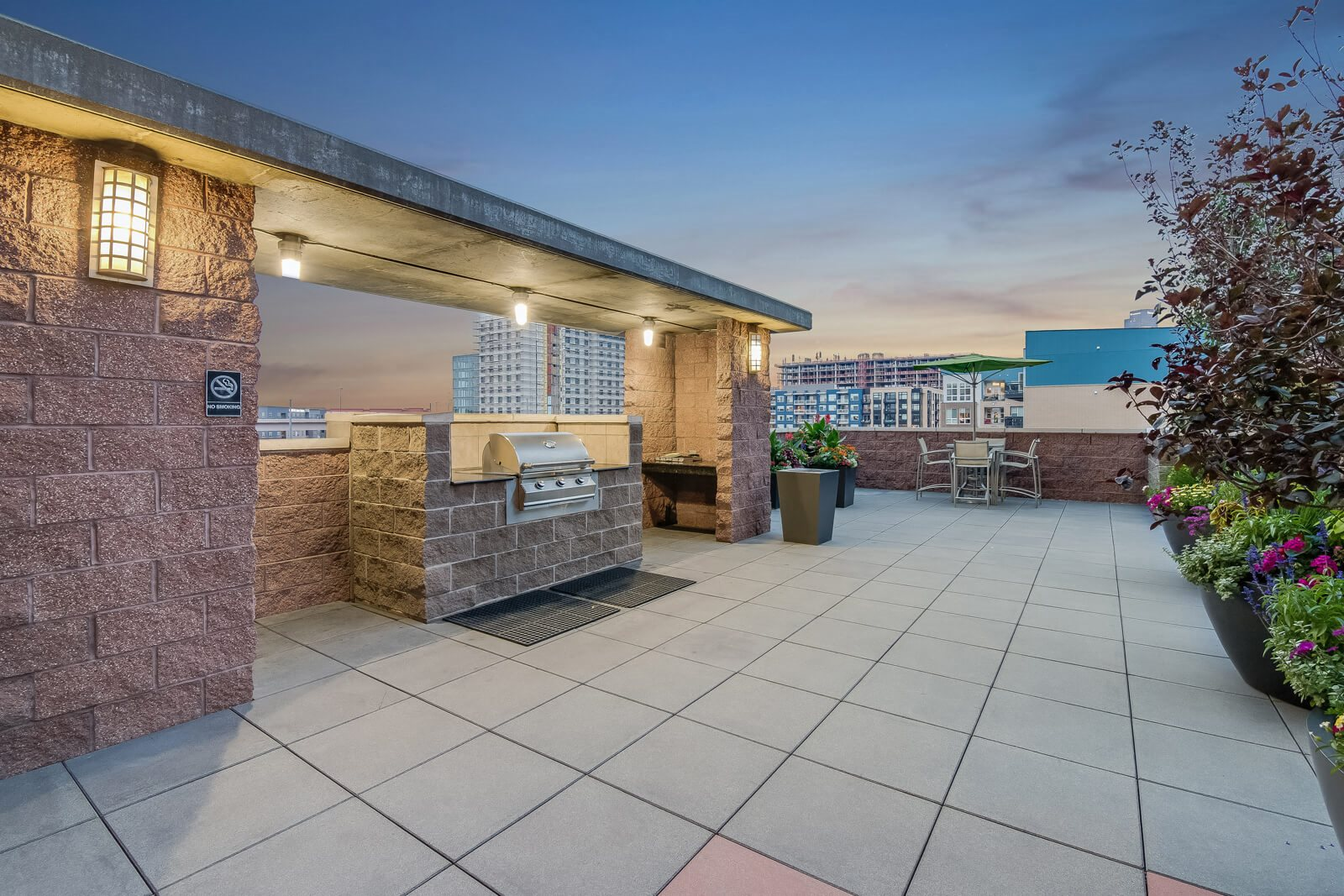 BBQ Grills by the Pool at The Manhattan, 80202, CO