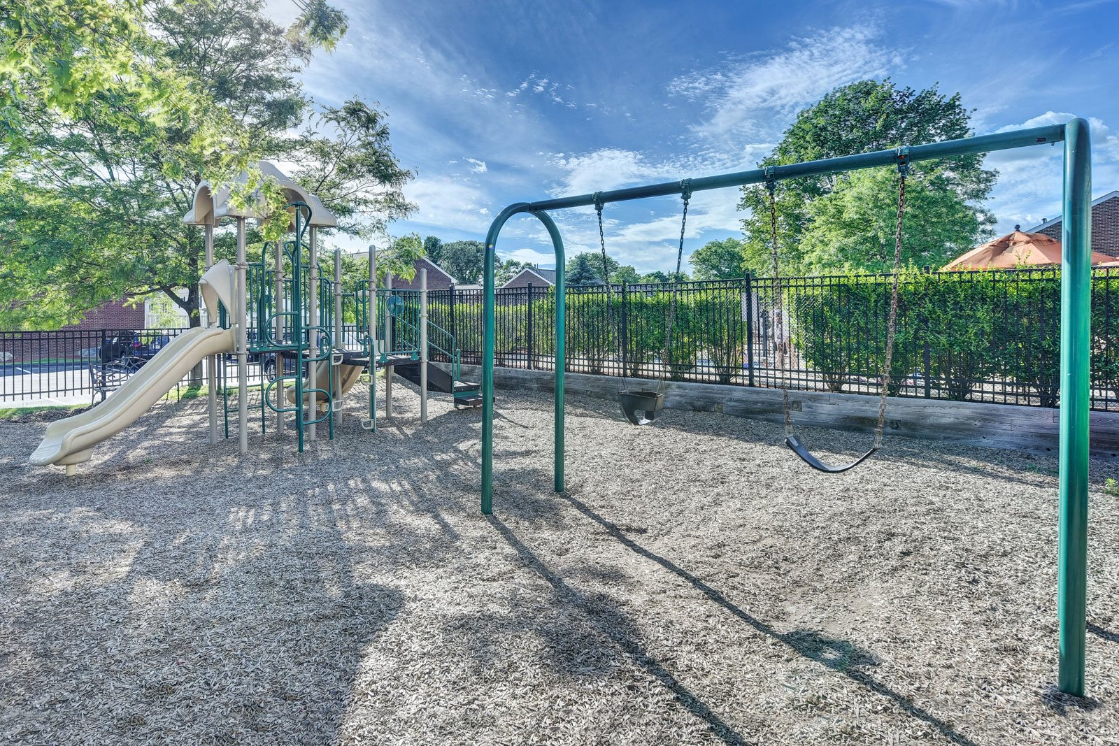 Playground with Swing Set at Windsor Ridge at Westborough, 01581, MA