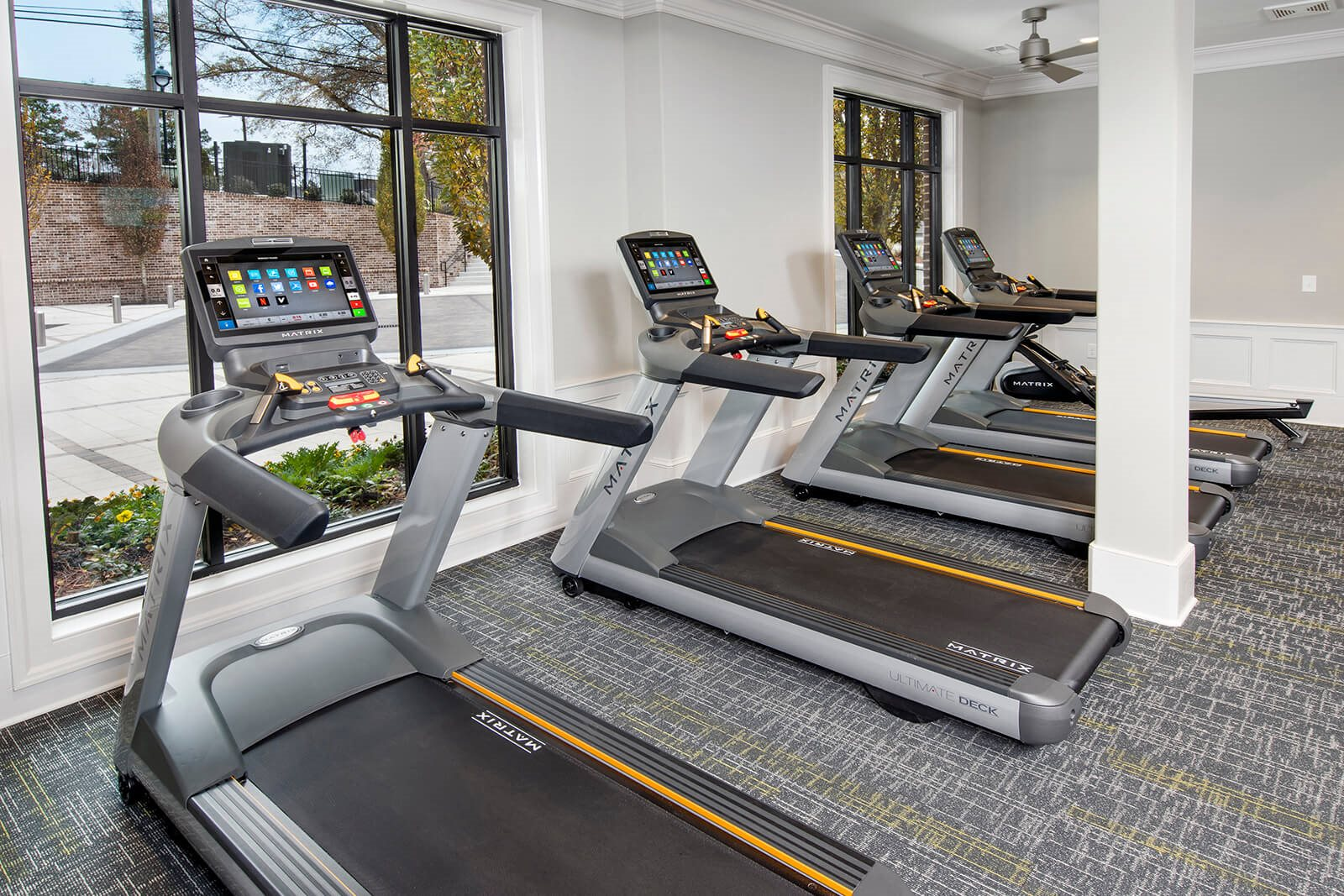 Cardio Equipment in Fitness Center at Windsor Chastain, Atlanta, 30342