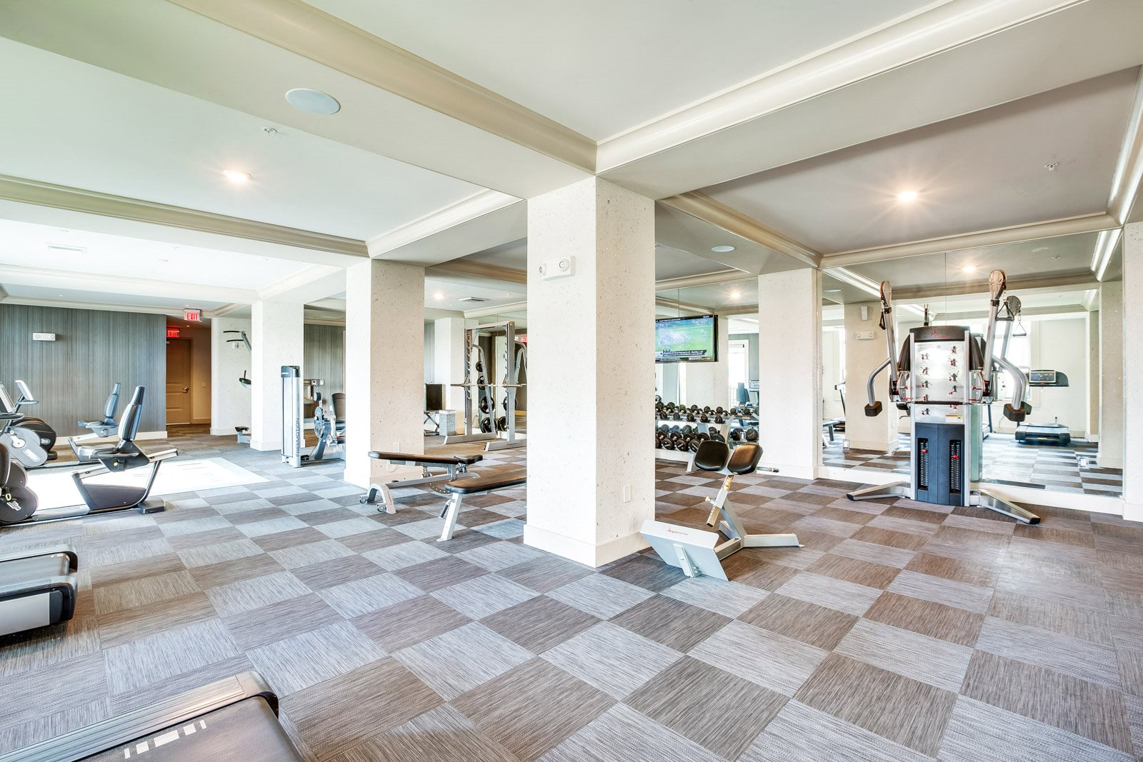 Cardio Equipment in Fitness Center at Windsor at Doral, 33178, FL