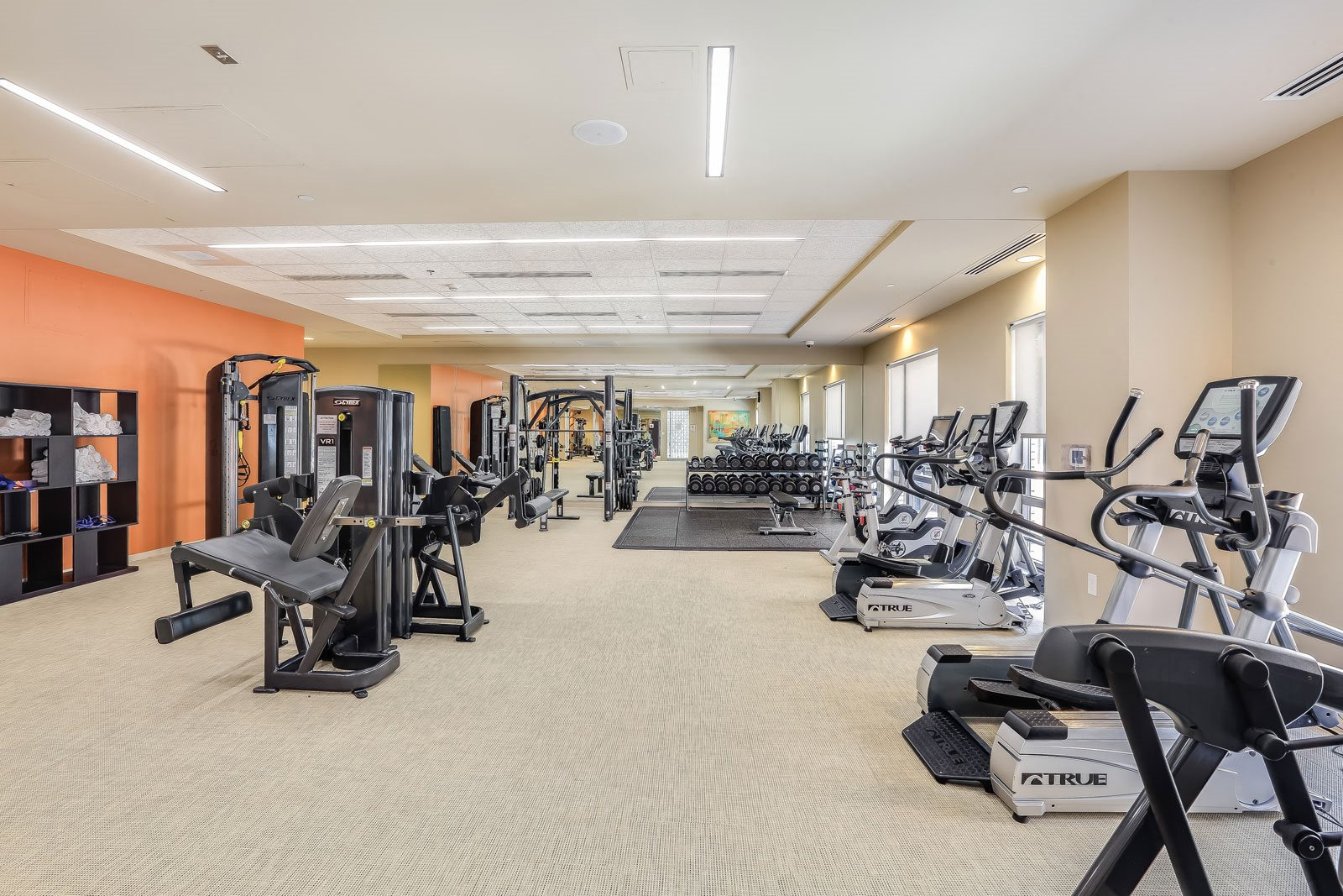 State-of-the-Art Fitness Center at The Victor by Windsor, 02114, MA