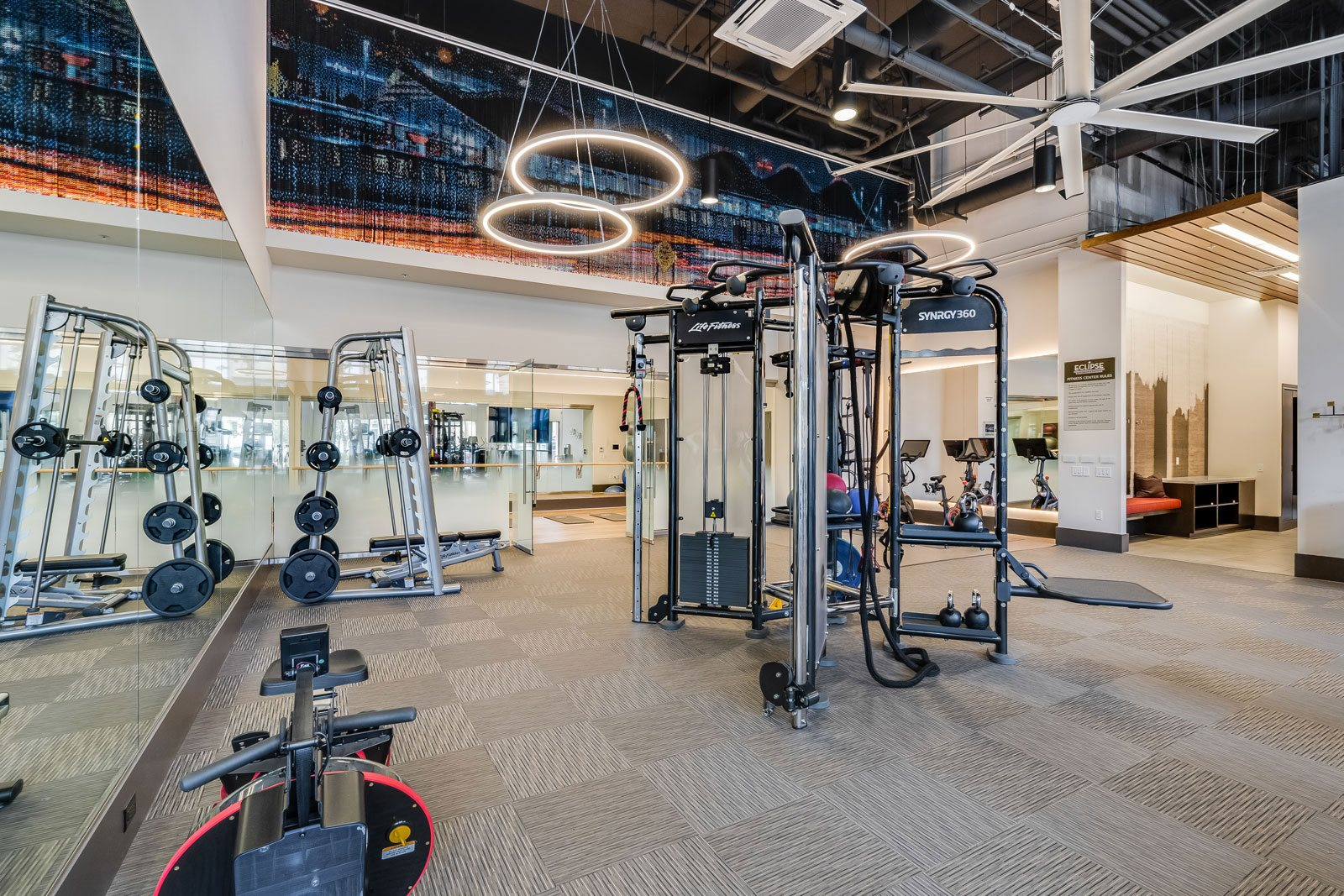State-of-the-Art Fitness Center at Dublin Station by Windsor, 5300 Iron Horse Pkwy, Dublin