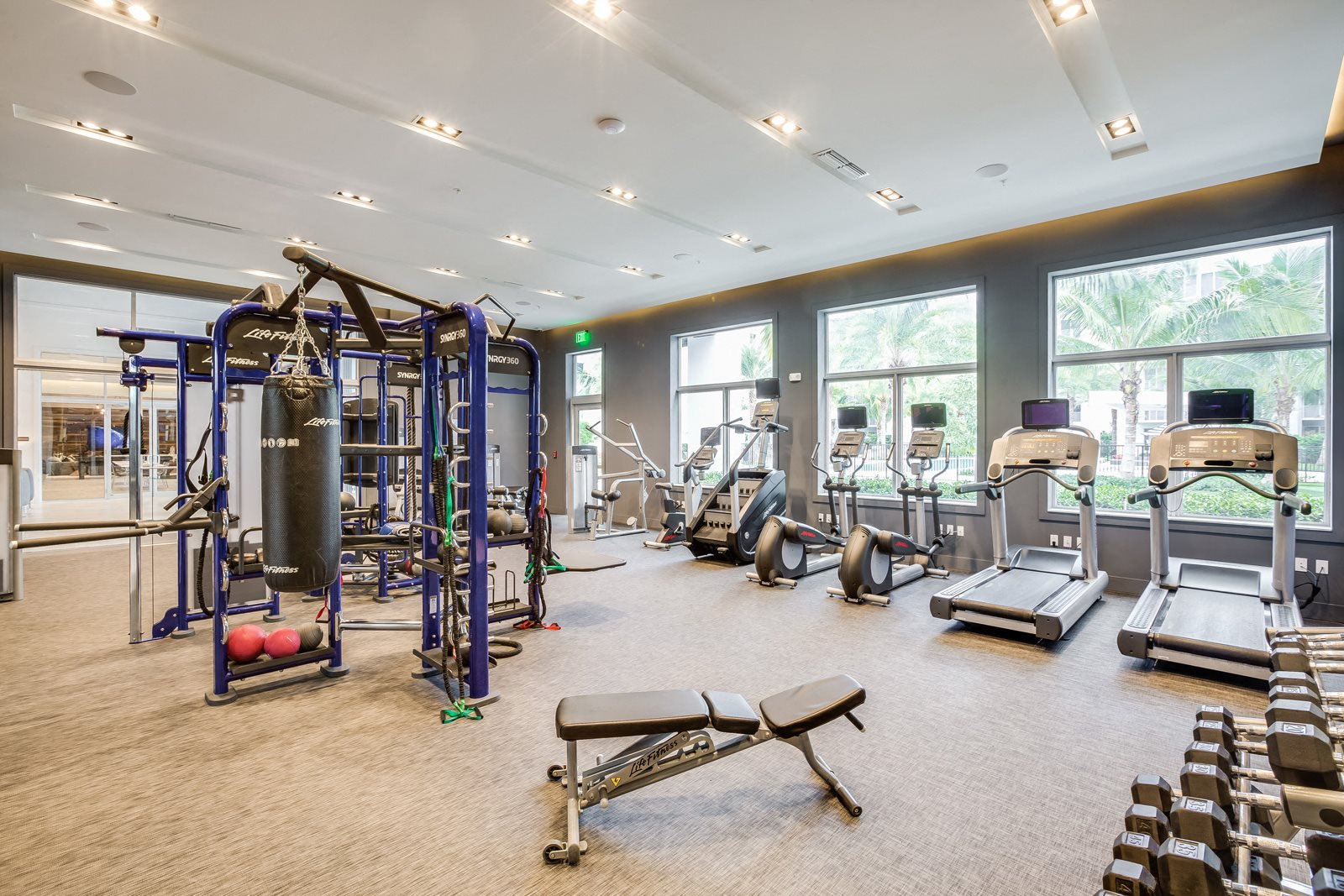State-of-the-Art Fitness Center at Allure by Windsor, Boca Raton, 33487