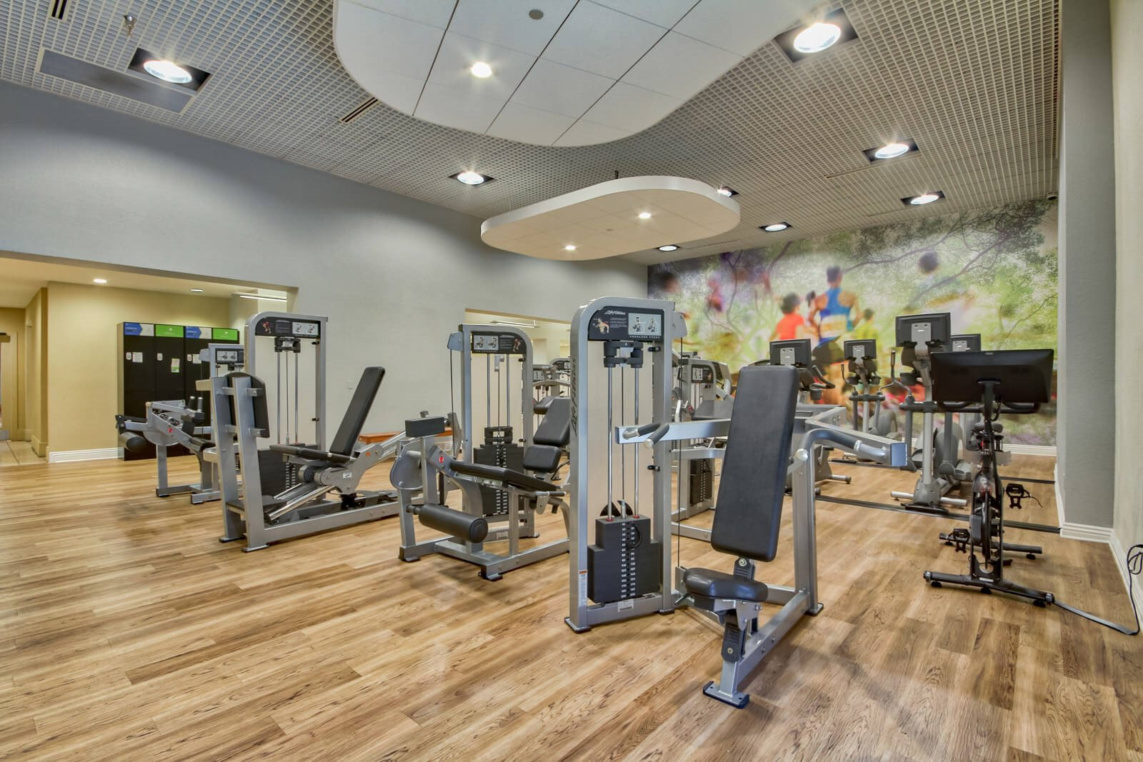 Large, State-of-the-Art Fitness Center at Windsor at Main Place, 92868, CA