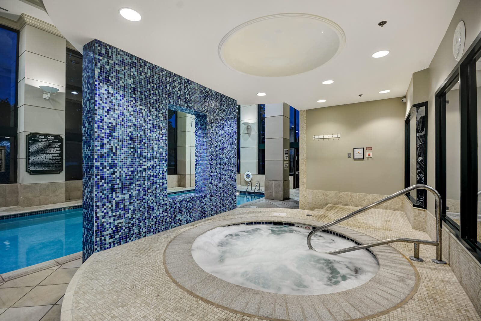 Year-Round, Indoor Spa at Windsor at Mariners, Edgewater, 07020