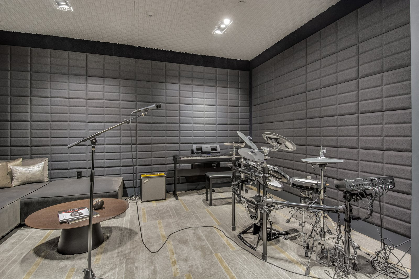 Music Studio at Stratus, 820 Lenora St., WA
