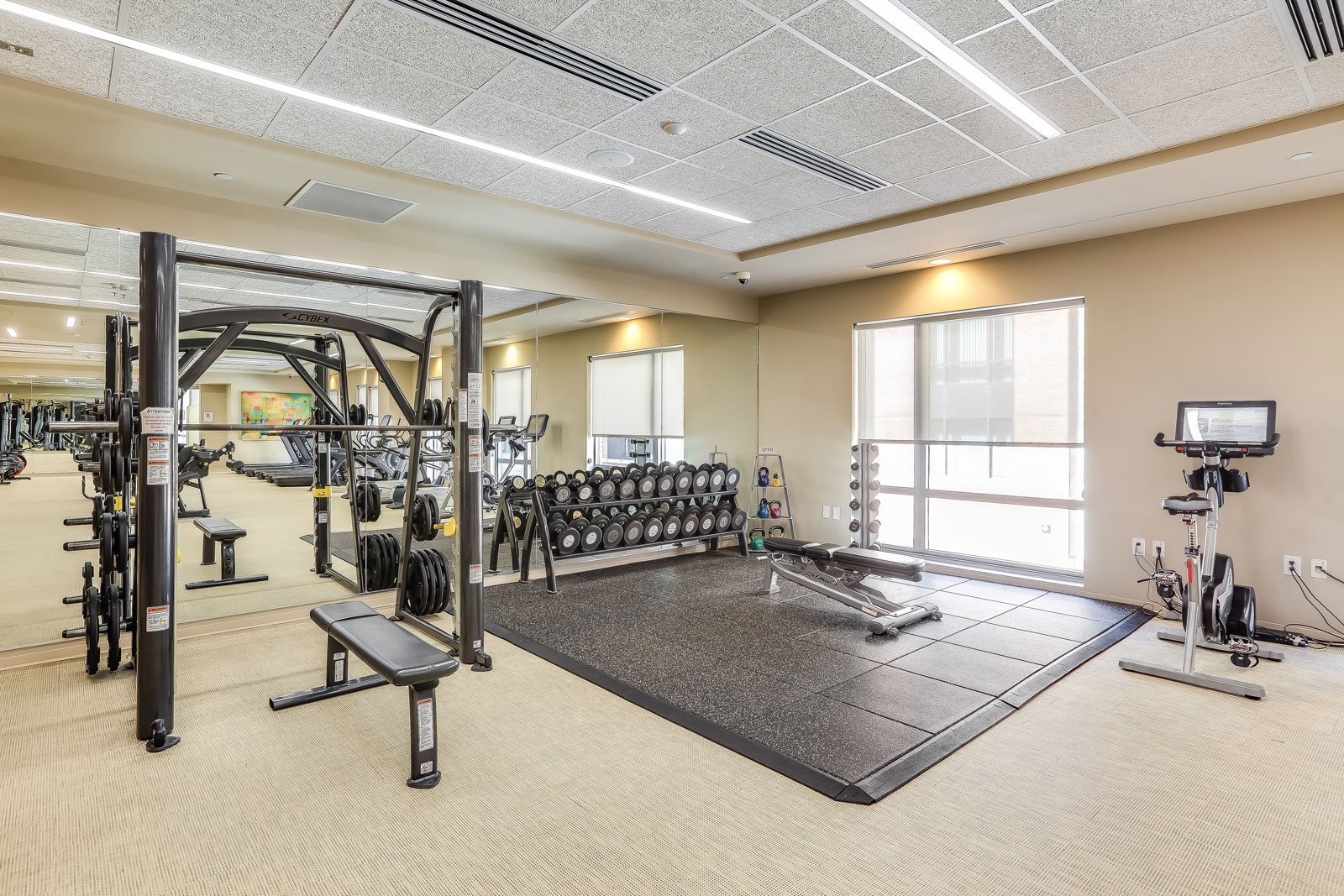 24-Hour, Fully-Equipped Fitness Center at The Victor by Windsor, 110 Beverly St, MA
