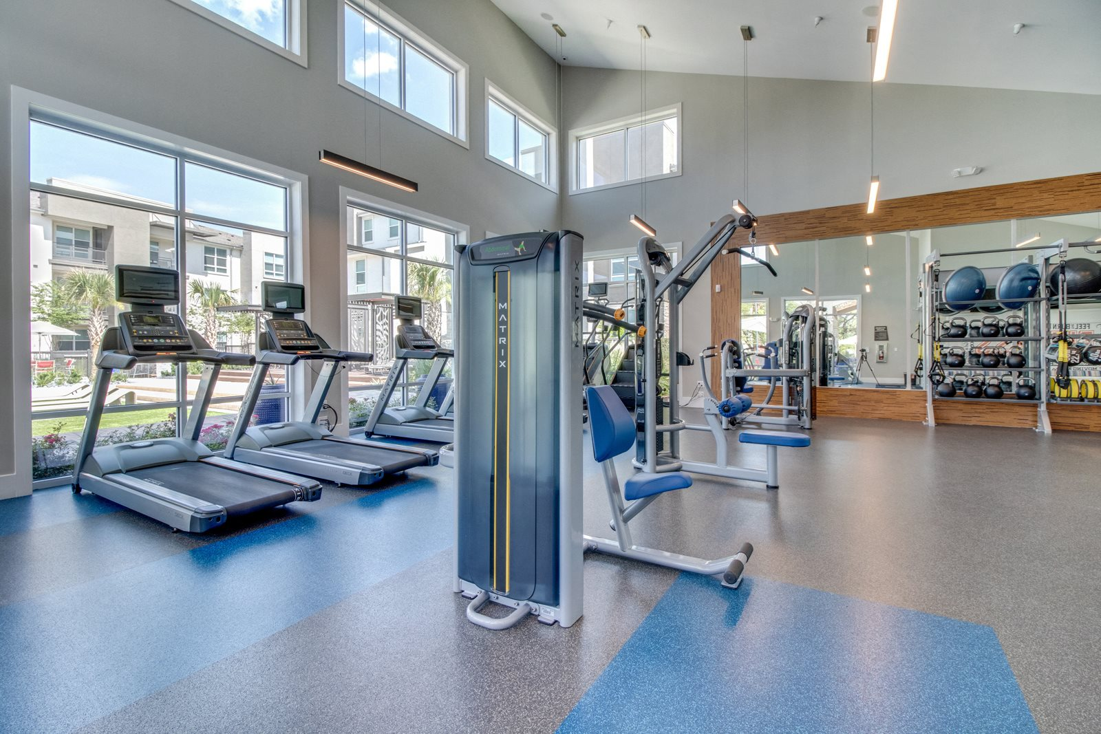 Fully-Equipped Fitness Center at Windsor Republic Place, Austin, 78727