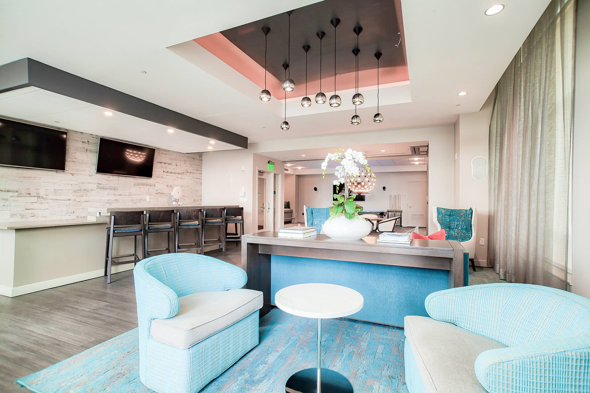 Resident pub at Waterside Place by Windsor, Massachusetts, 02210