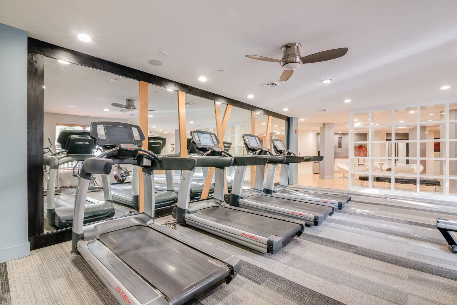 Cardio Equipment in Gym at Windsor at Contee Crossing, Laurel, 20707