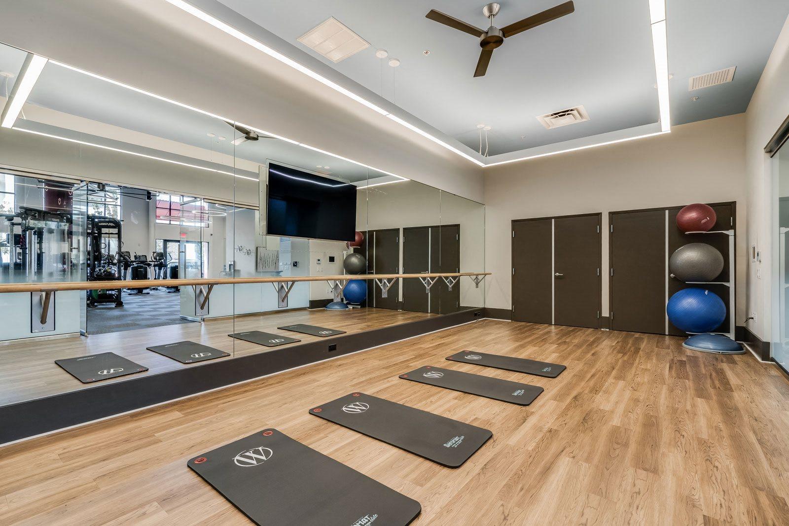 Indoor Yoga/Pilates Studio at Dublin Station by Windsor, Dublin, CA
