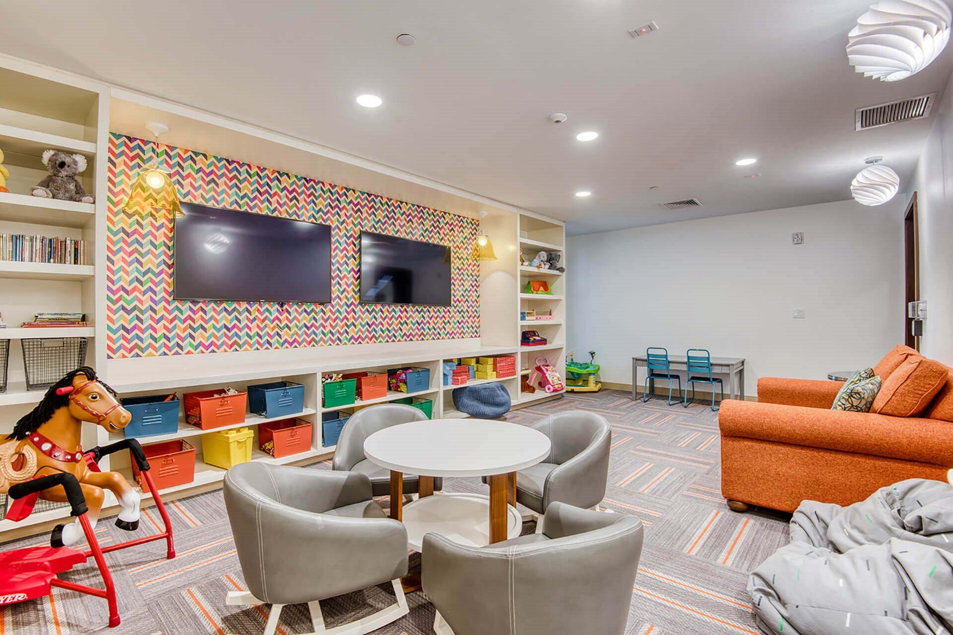 Children's recreation room at Hopkinton by Windsor, Massachusetts, 01748