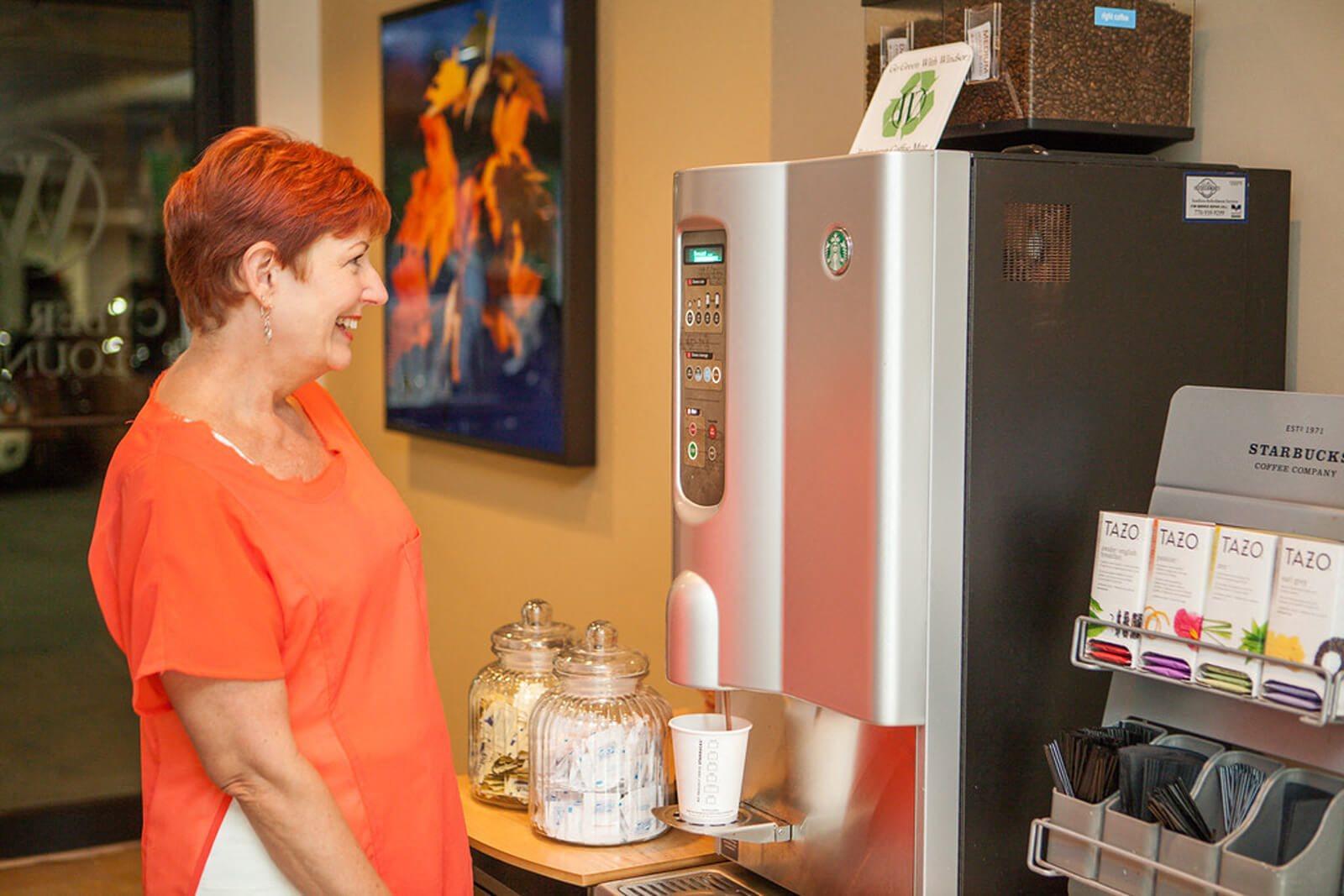 Coffee Bar and Hospitality Station at Windsor at Midtown, Atlanta, 30309