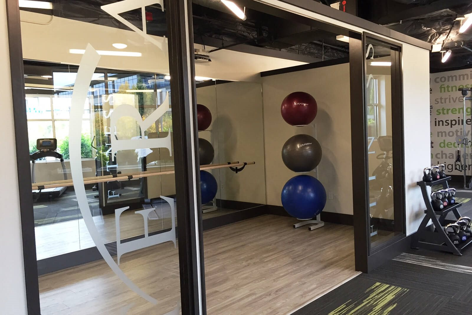 High-Tech Fitness Center at Tera Apartments, Kirkland, 98033