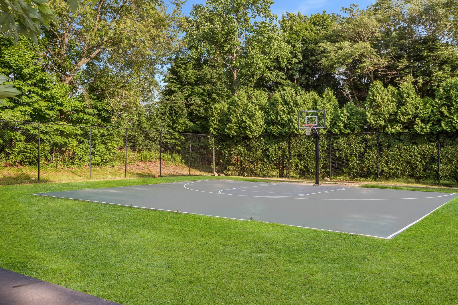 Outdoor Basketball Court at Windsor Ridge at Westborough, 1 Windsor Ridge Drive, Westborough