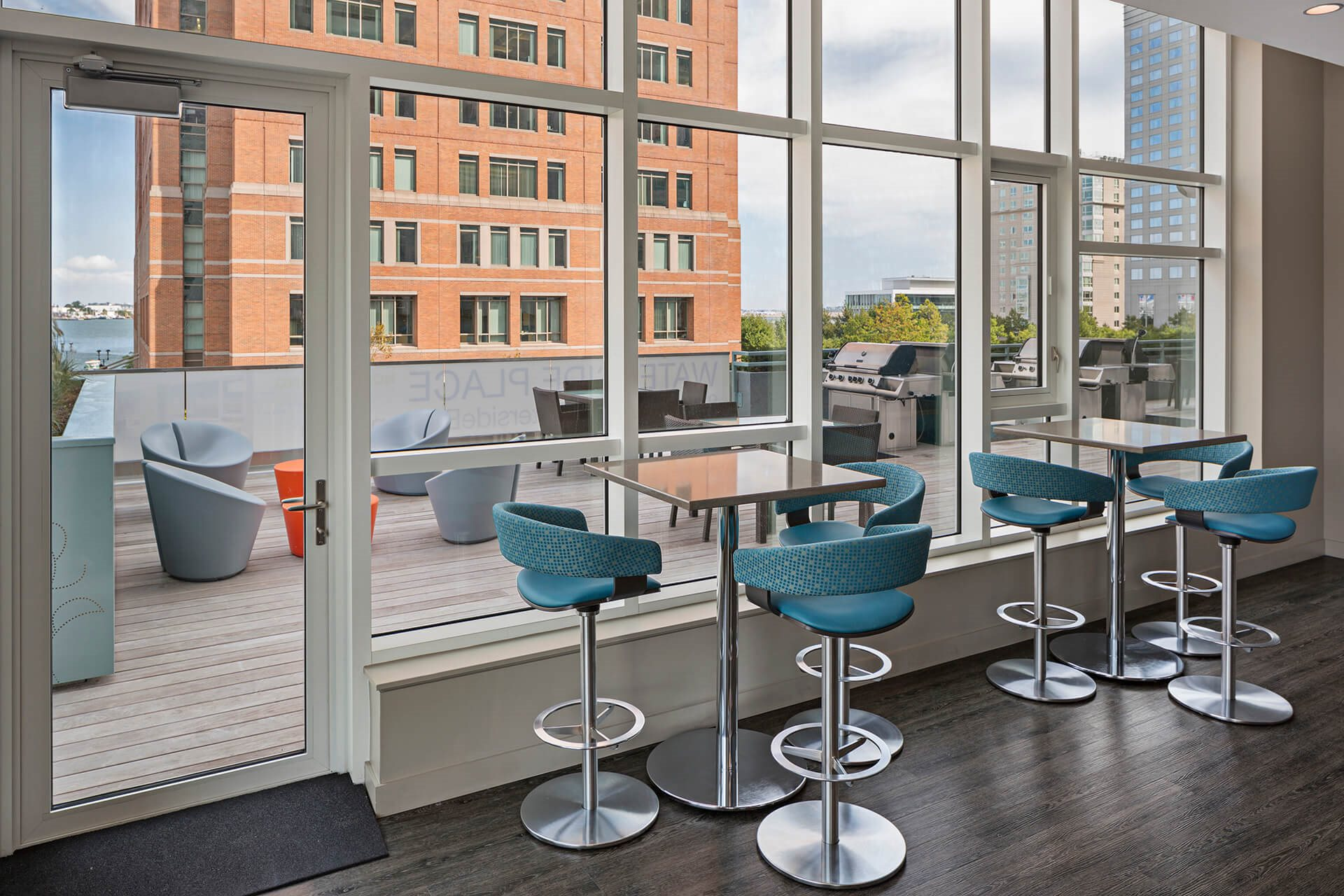 Enjoy the Indoor Resident Pub at Waterside Place by Windsor, Boston, 02210