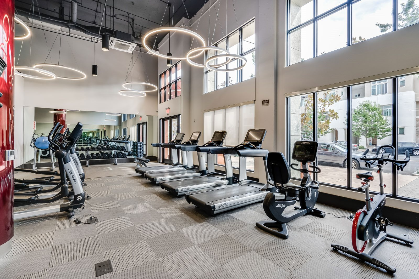 Free Weight and Cardio Equipment at Dublin Station by Windsor, Dublin, California