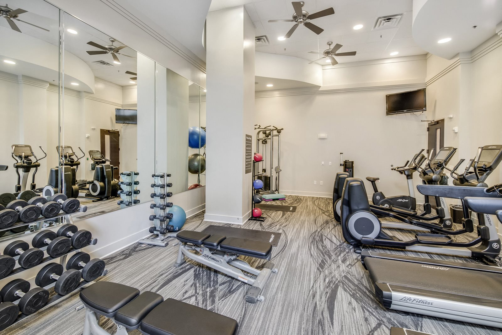 24-Hour, Fully-Equipped Fitness Center at Windsor at Brookhaven, Georgia, 30319